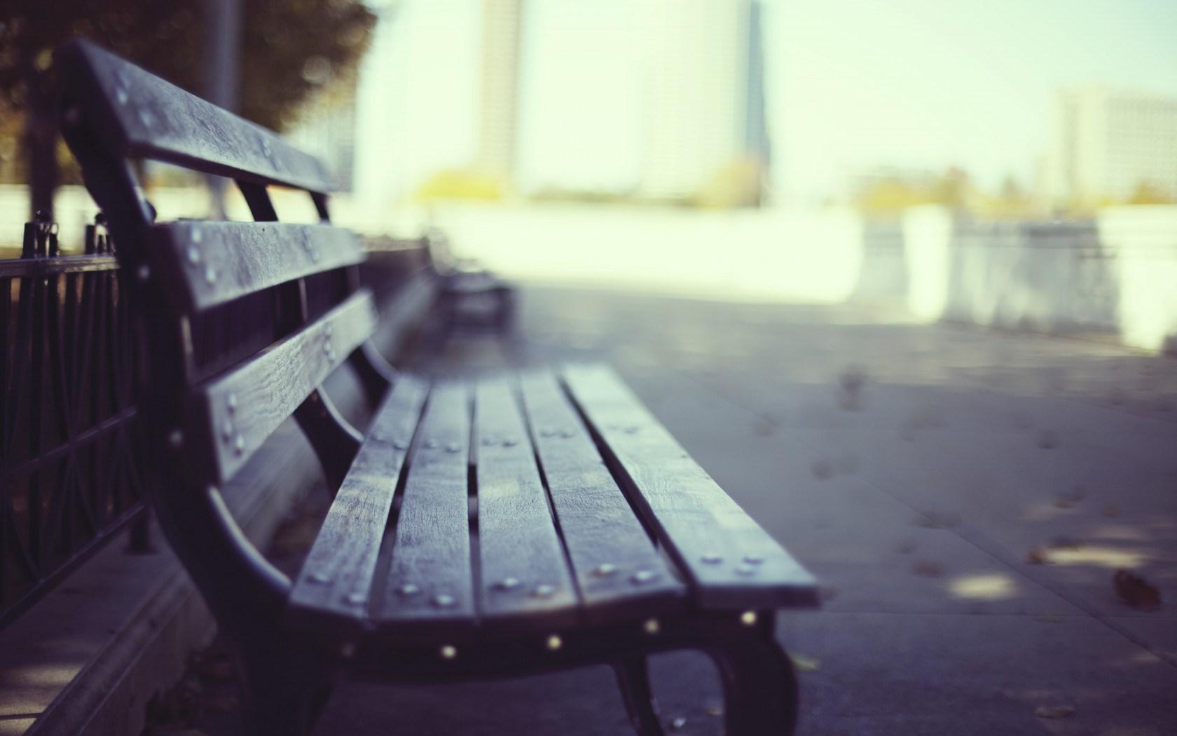 Bench Park Macro