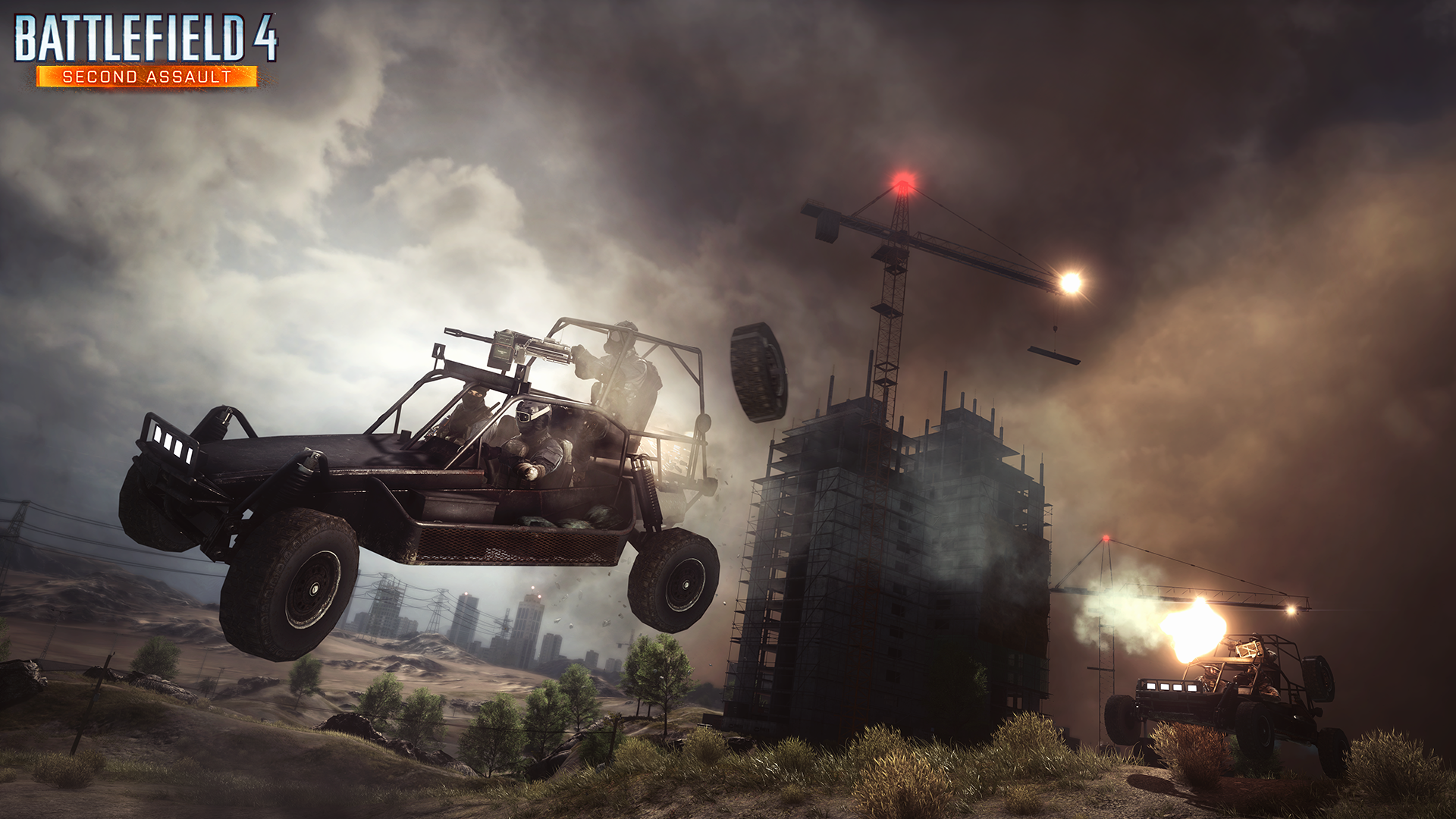 BF4 Second Assault Screen