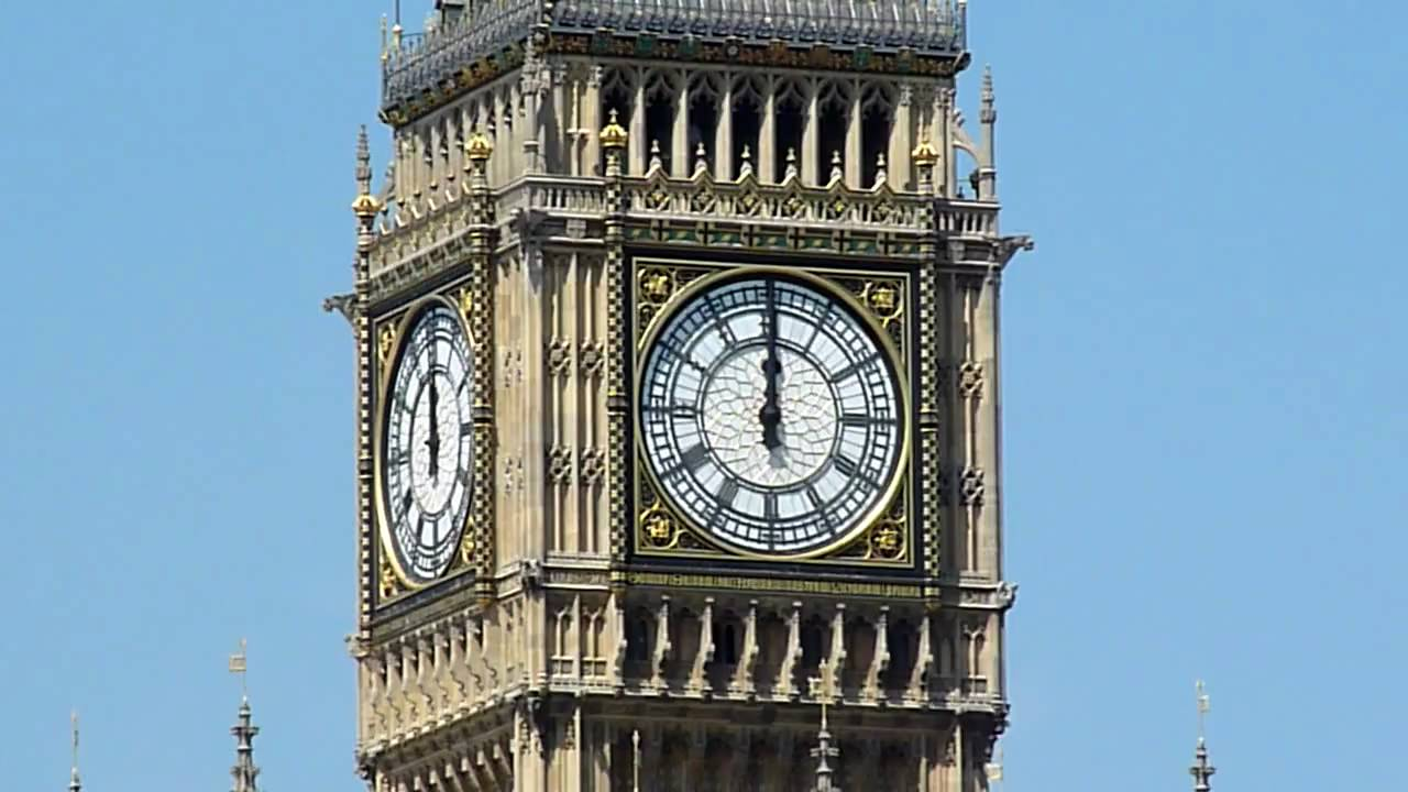 Big Ben Chimes Midday HD