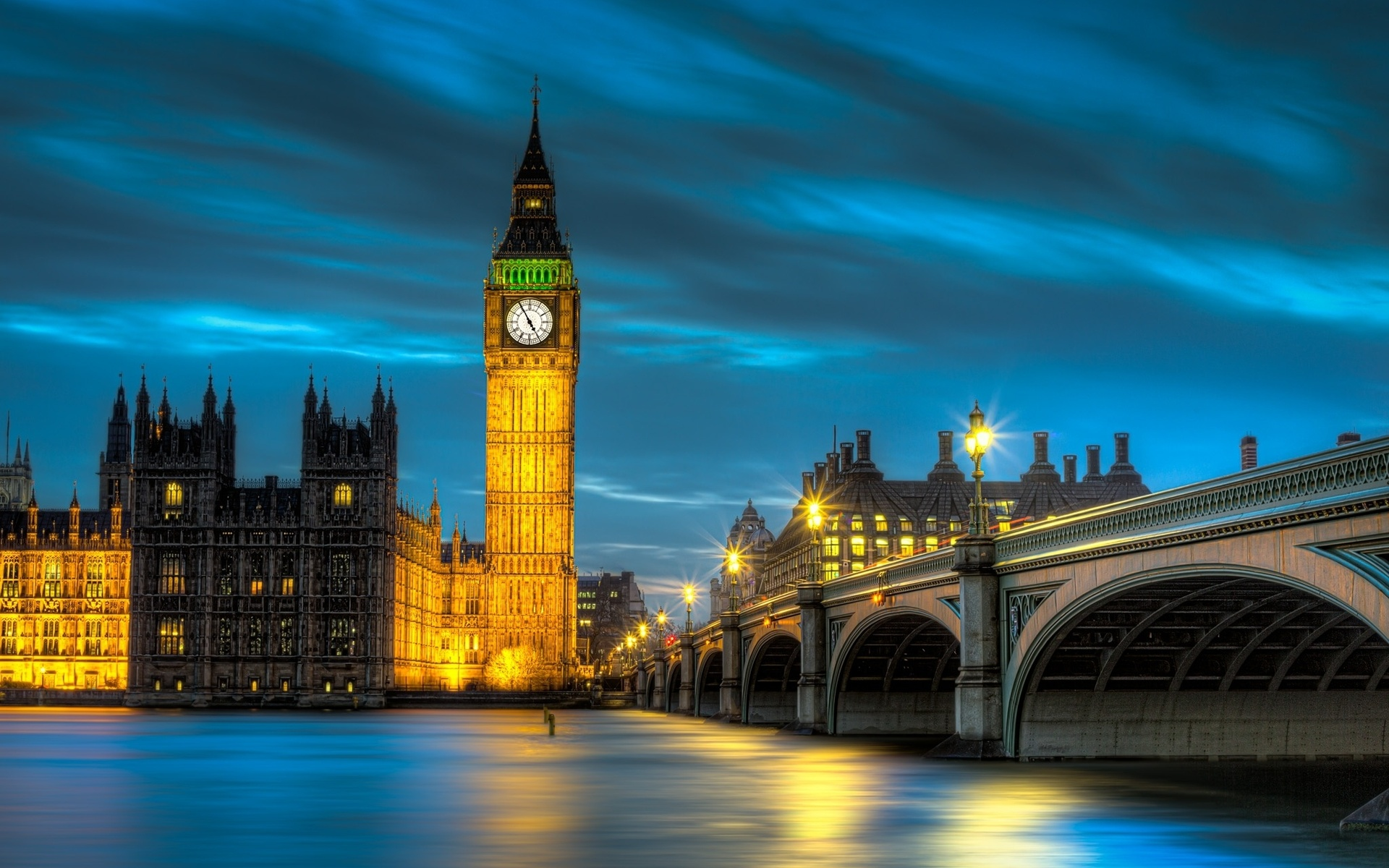 Big Ben Tower Wide Wallpaper HD