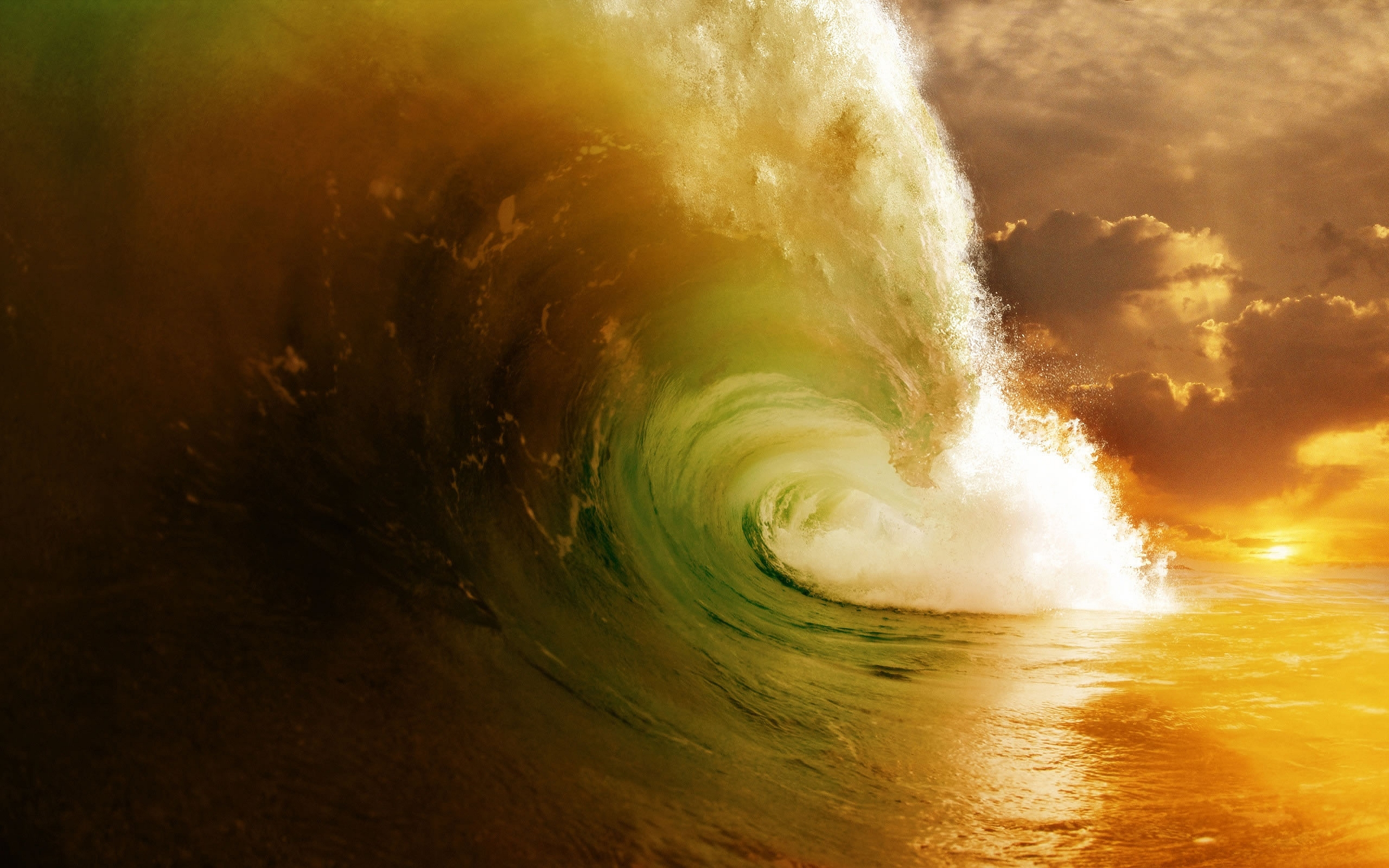 Big Colored Wave
