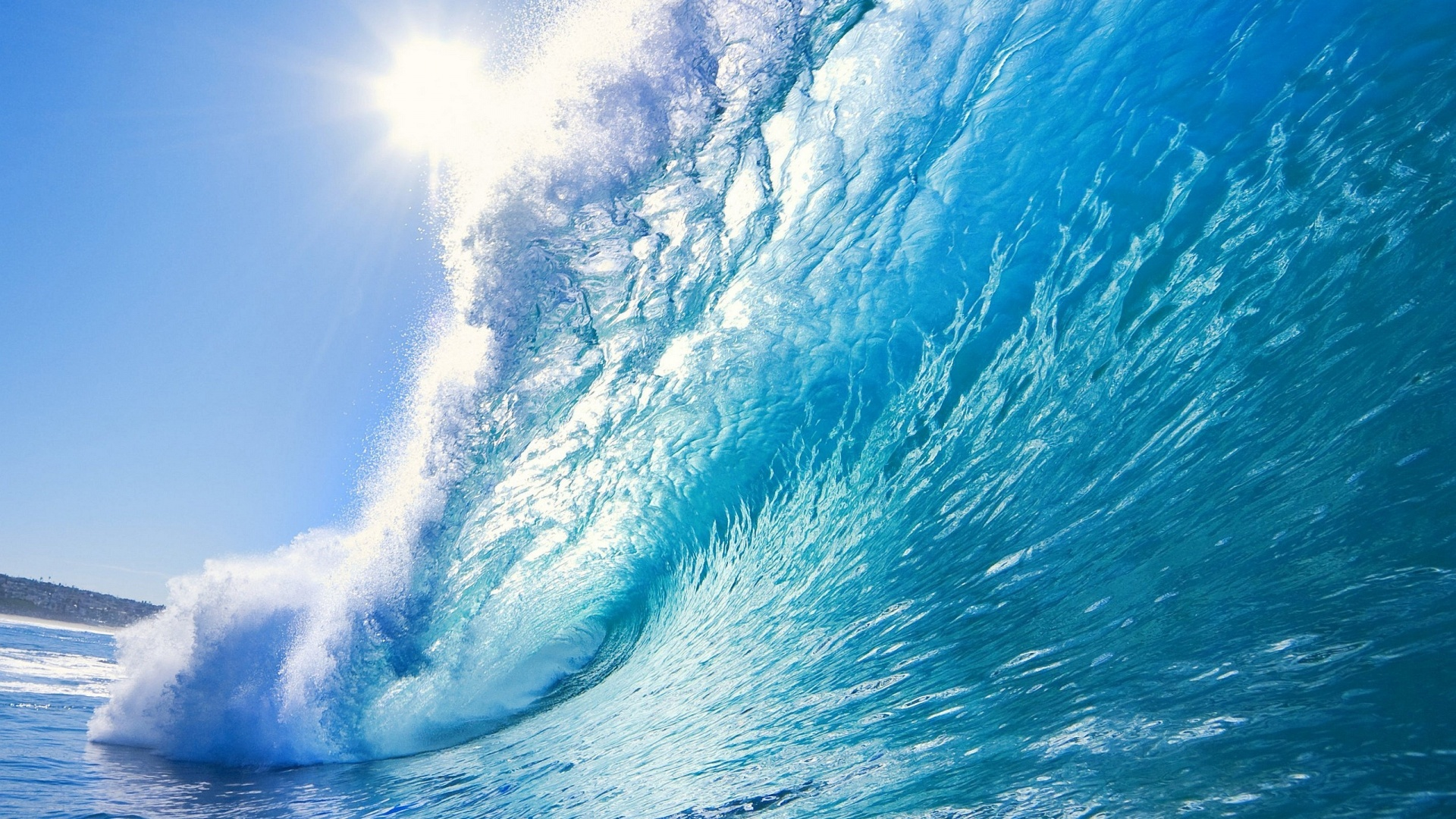 Big Wave Coming Wallpaper in 1920x1080 HD Resolutions