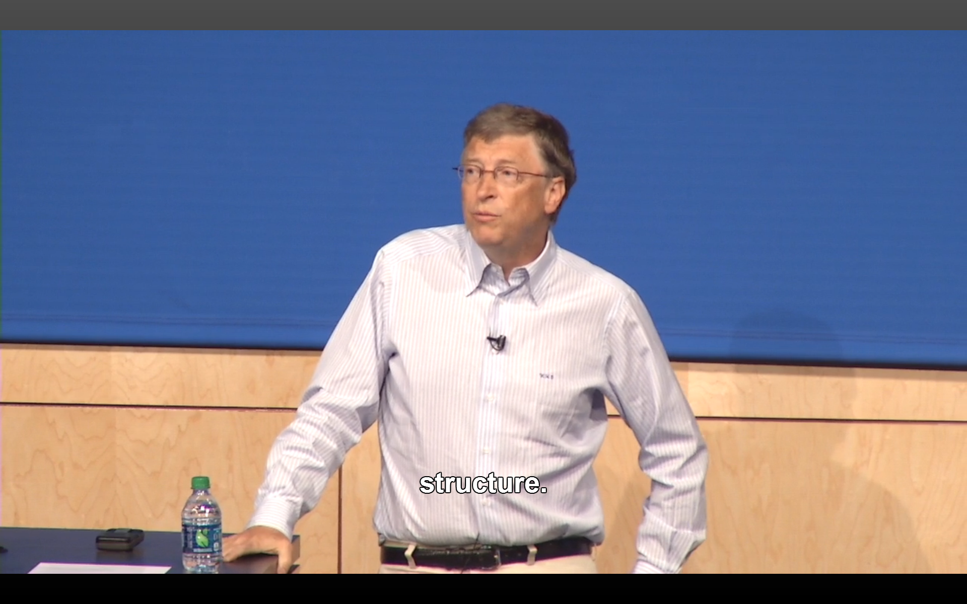 Bill Gates Microsoft Research Faculty Summit 2013