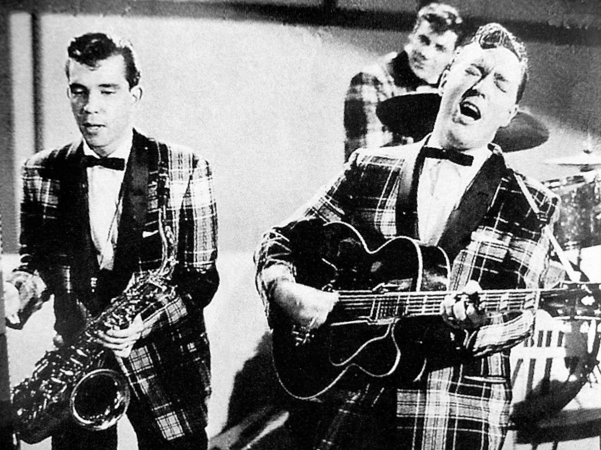 Left to right: Joey D'Ambrosio, Dick Richards in the back row, Bill Haley