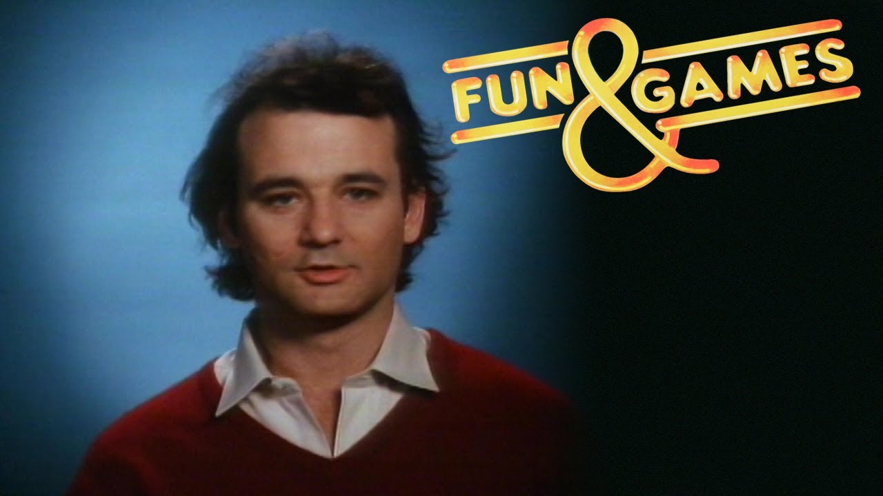 "Bill Murray in ""Fun & Games"" on Laserdisc! Rare?"