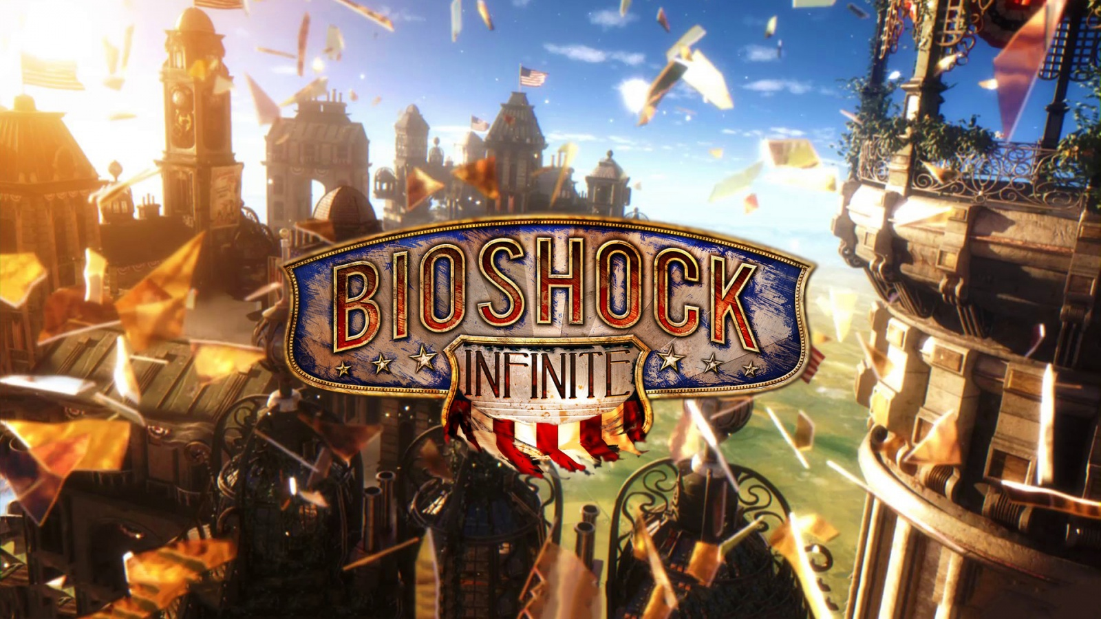 Bioshock infinite game Wallpaper in 1600x900 HD Resolutions