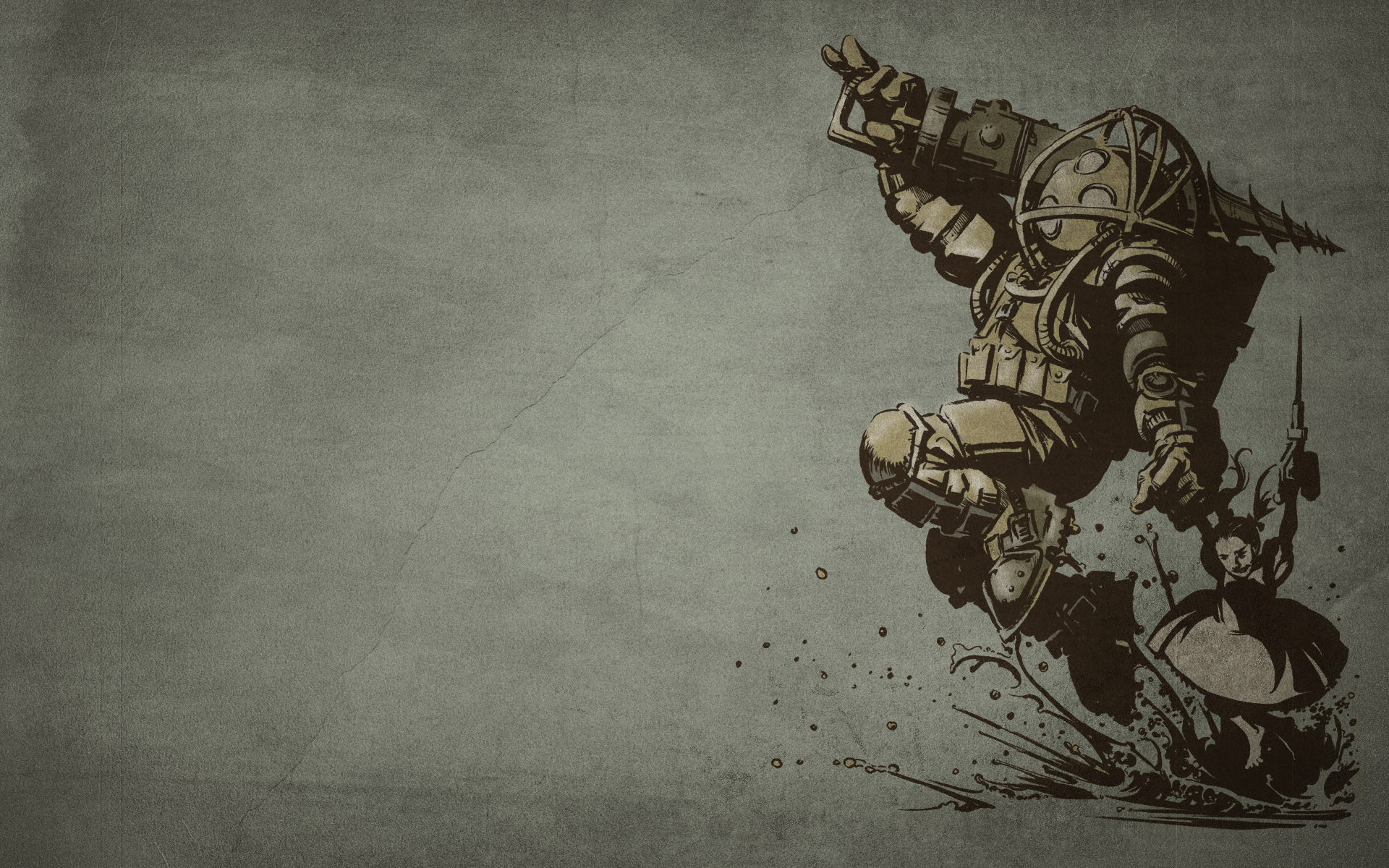 Bioshock infin... Bioshock Desktop Backgrounds Bioshock wallpaper widescreen