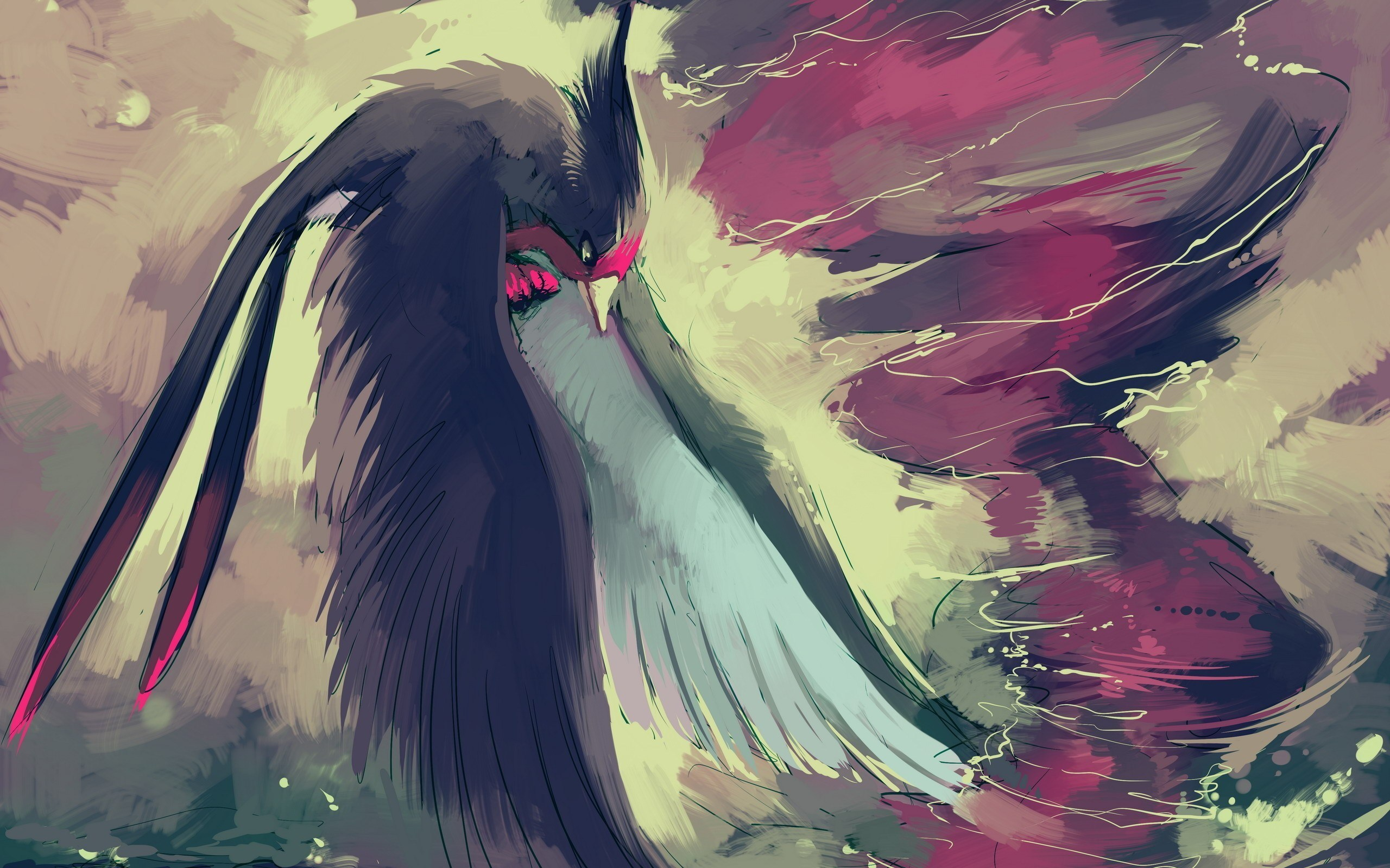 Bird Phoenix Flight Artwork