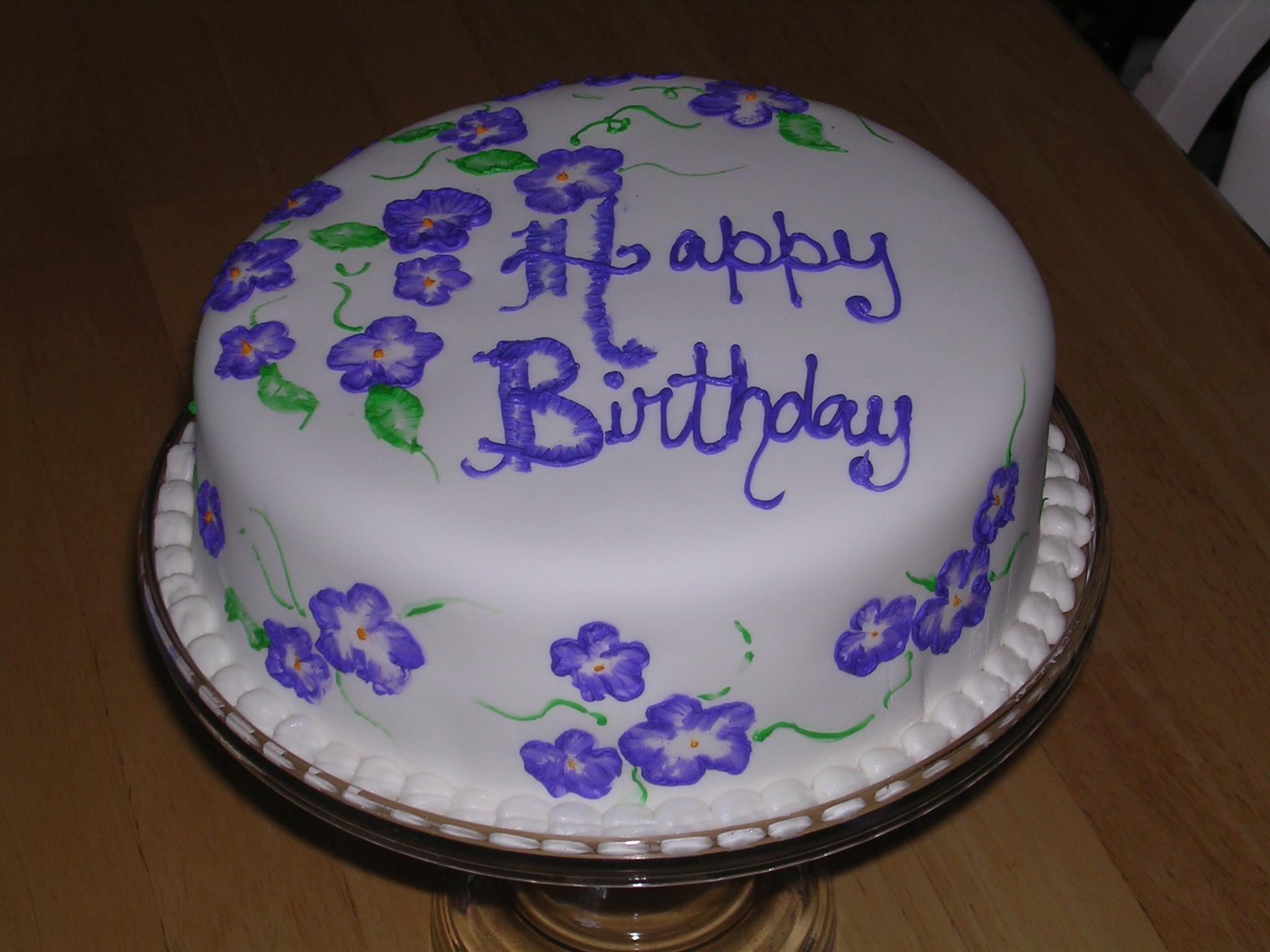 Boys birthday cakes free wallpaper Brushed Flower Birthday Cake