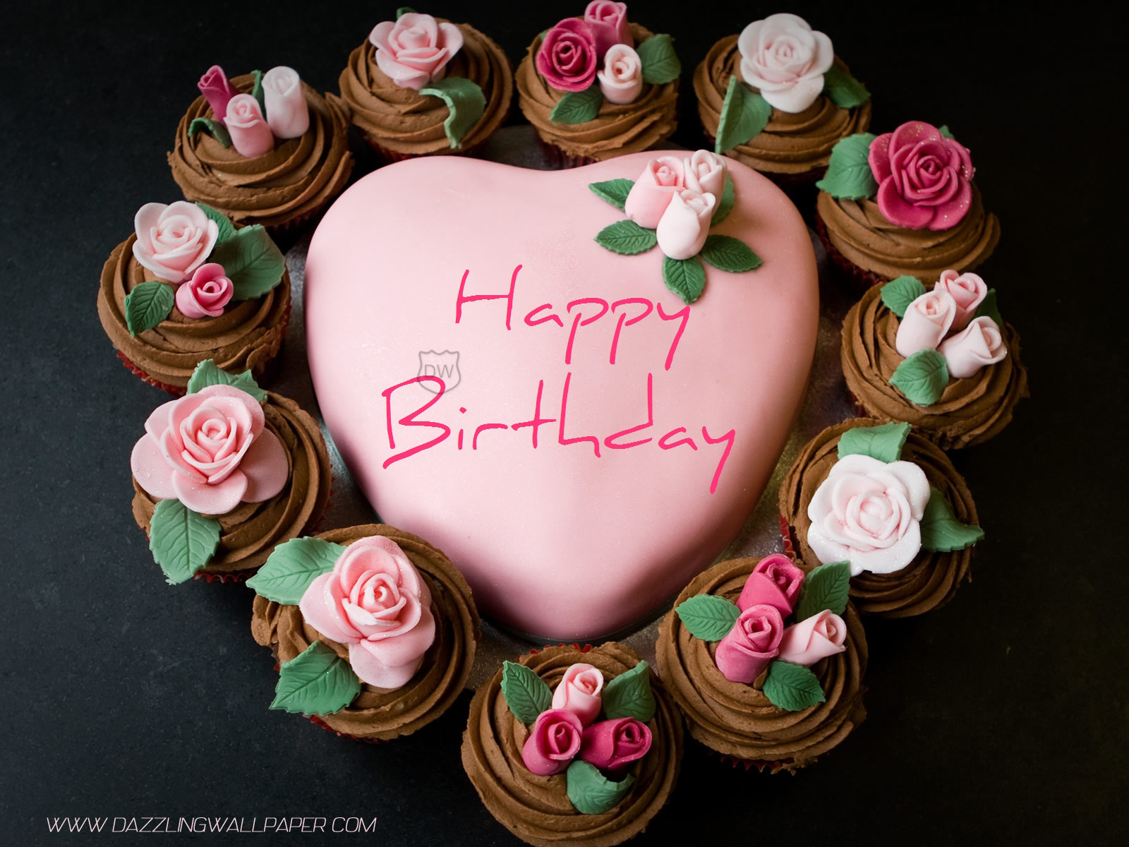 20 Photos of the Beauty Heart Birthday Cake Ideas