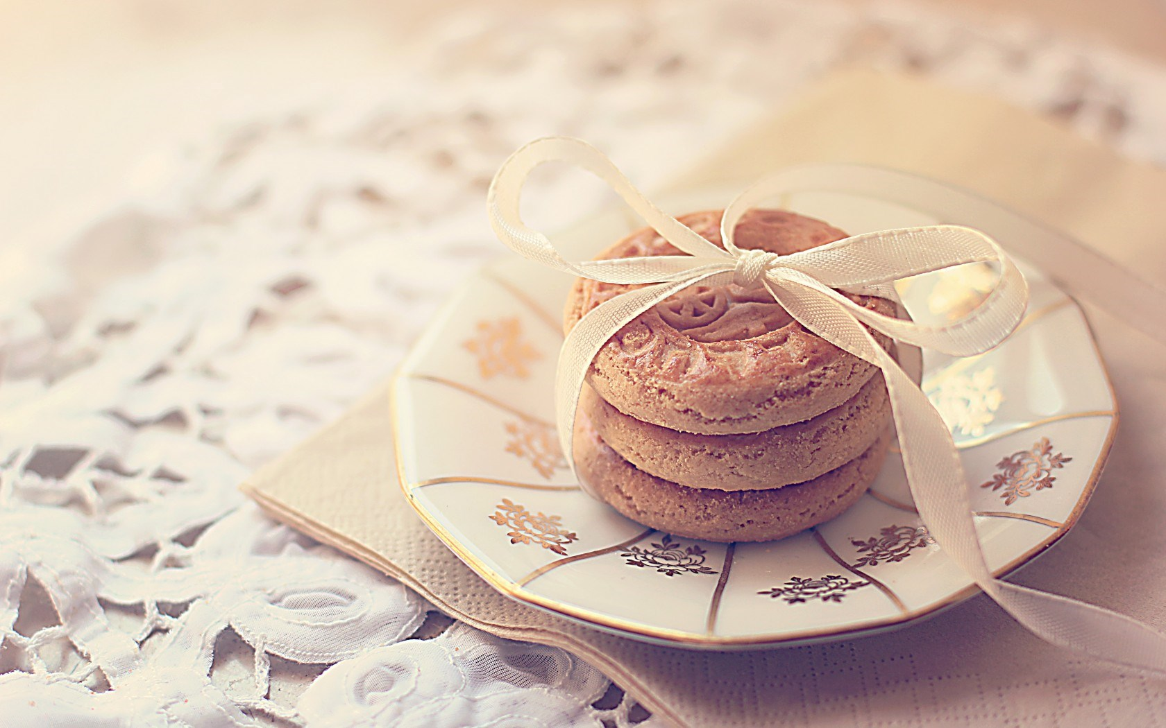 Biscuits Cookies Bow