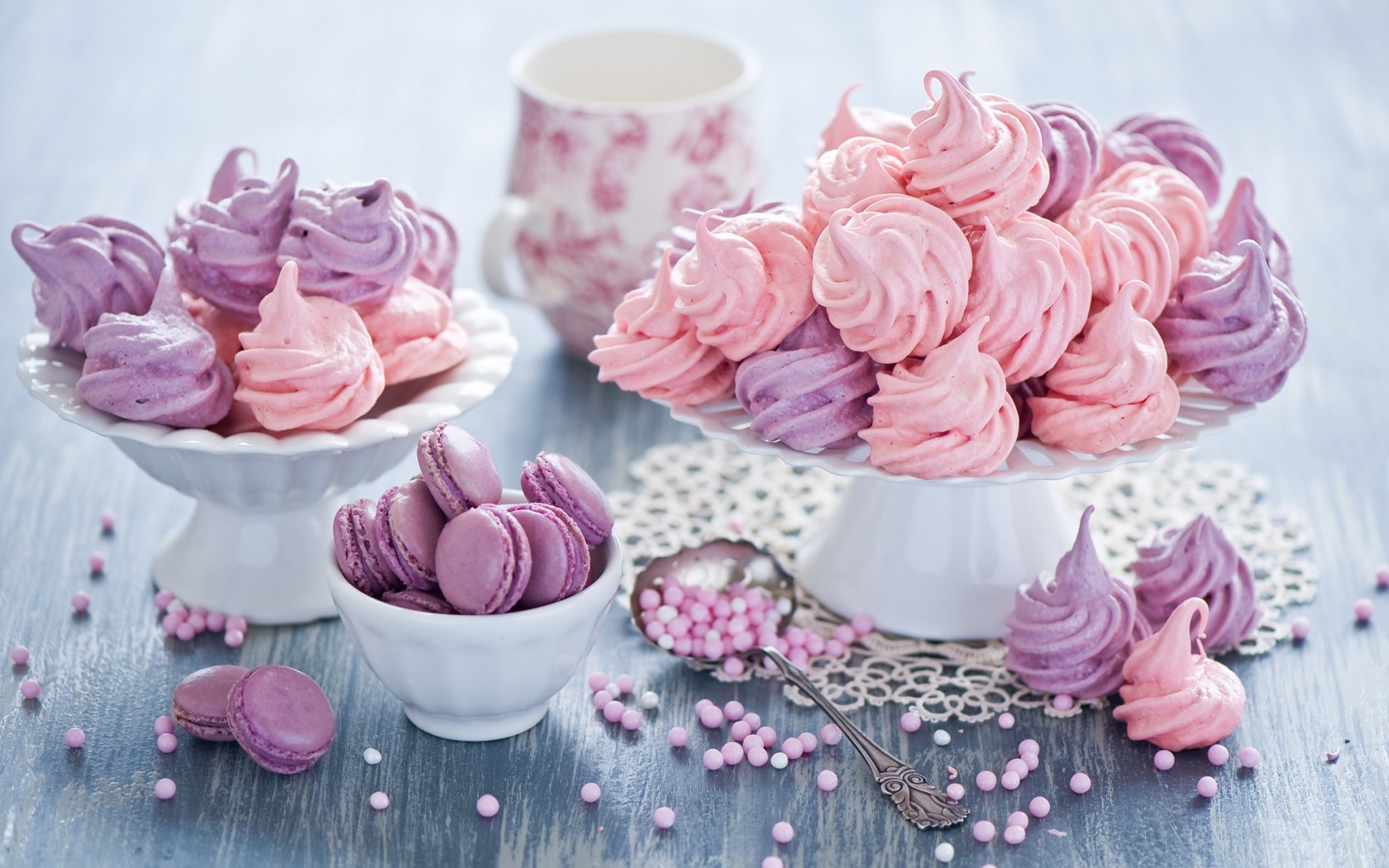 Biscuits Meringues Still Life