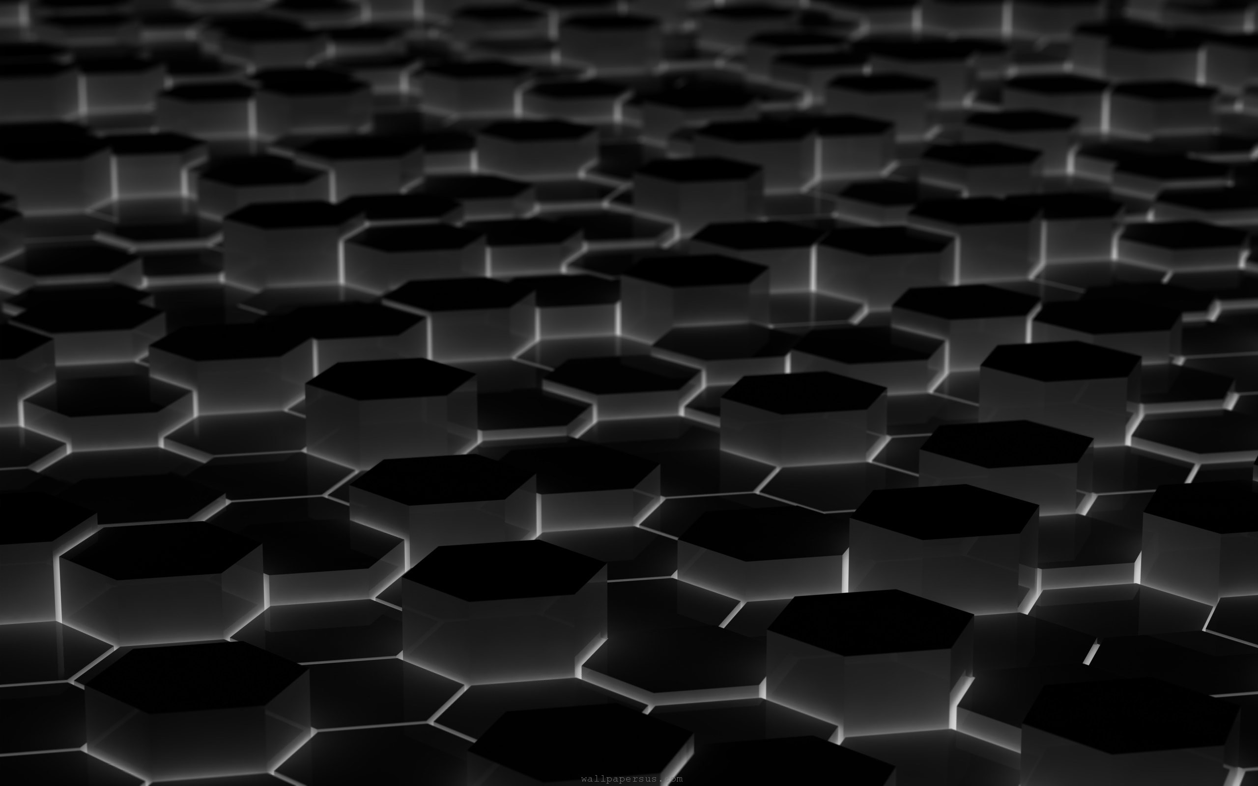 Black 3d wallpaper 2560x1600 9065 for 3d photo wallpaper