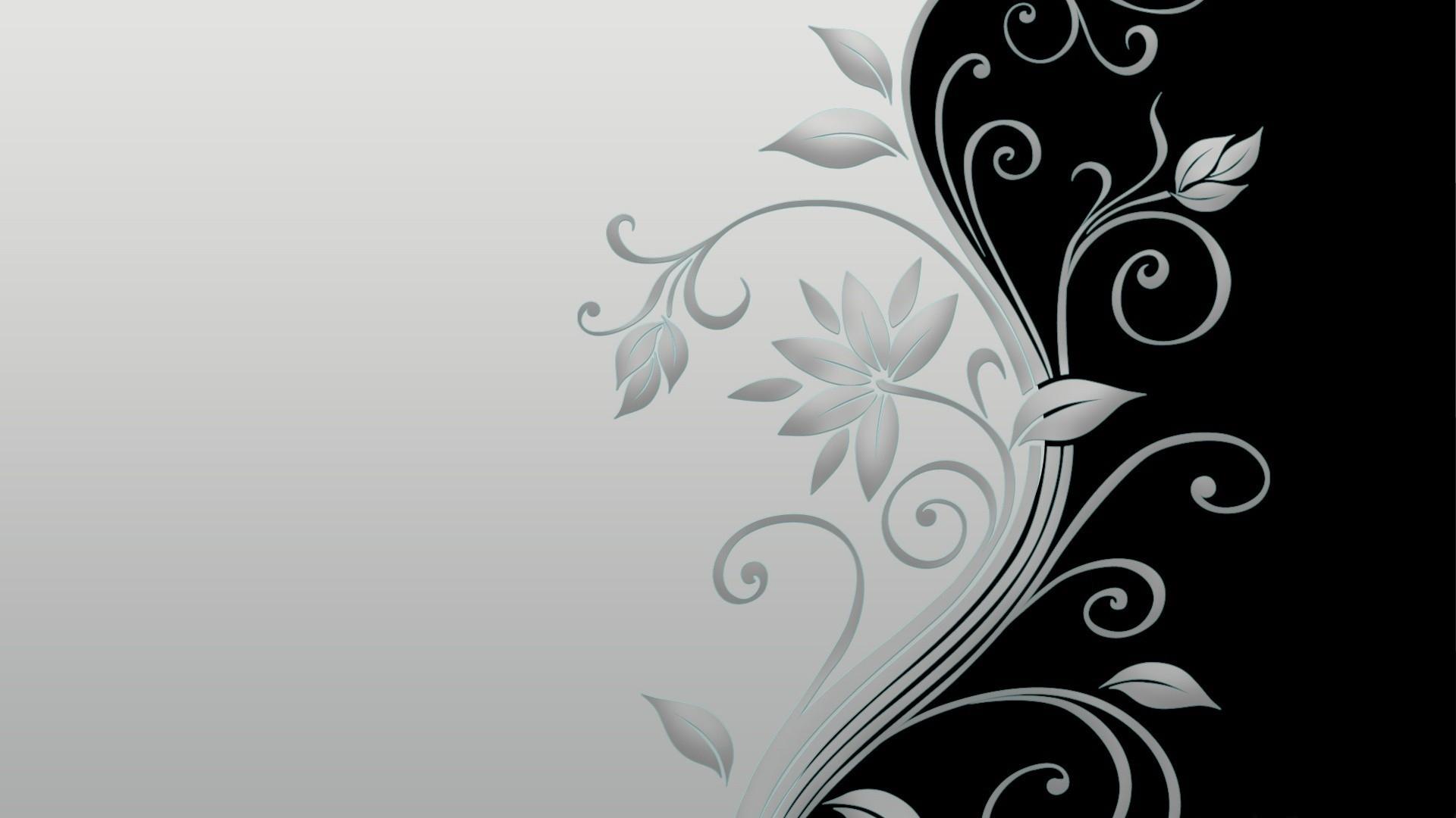 White Flower Wallpaper Cubewallpapercom High and Black