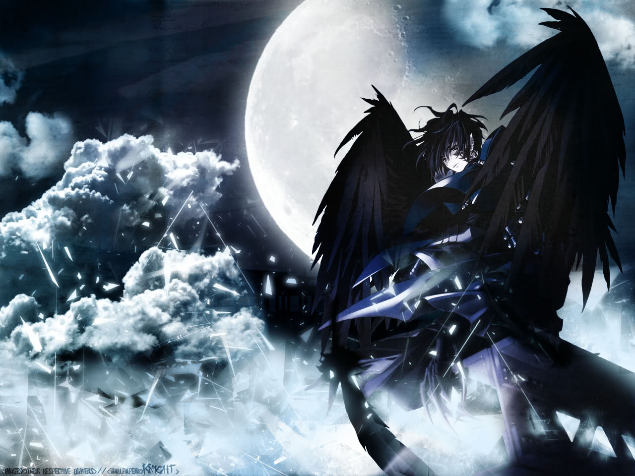 Black Angel Wallpaper
