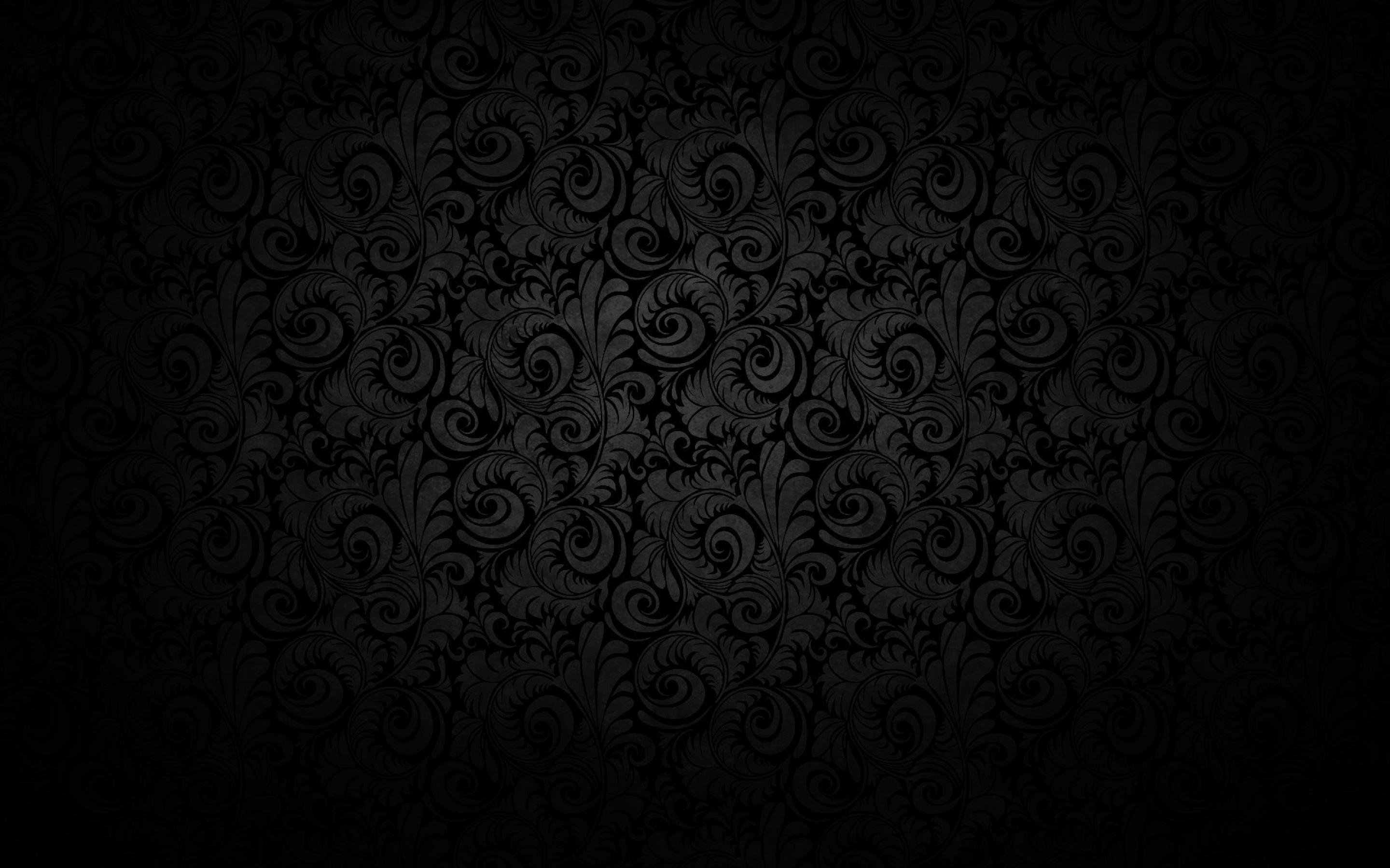 Black Background Pattern