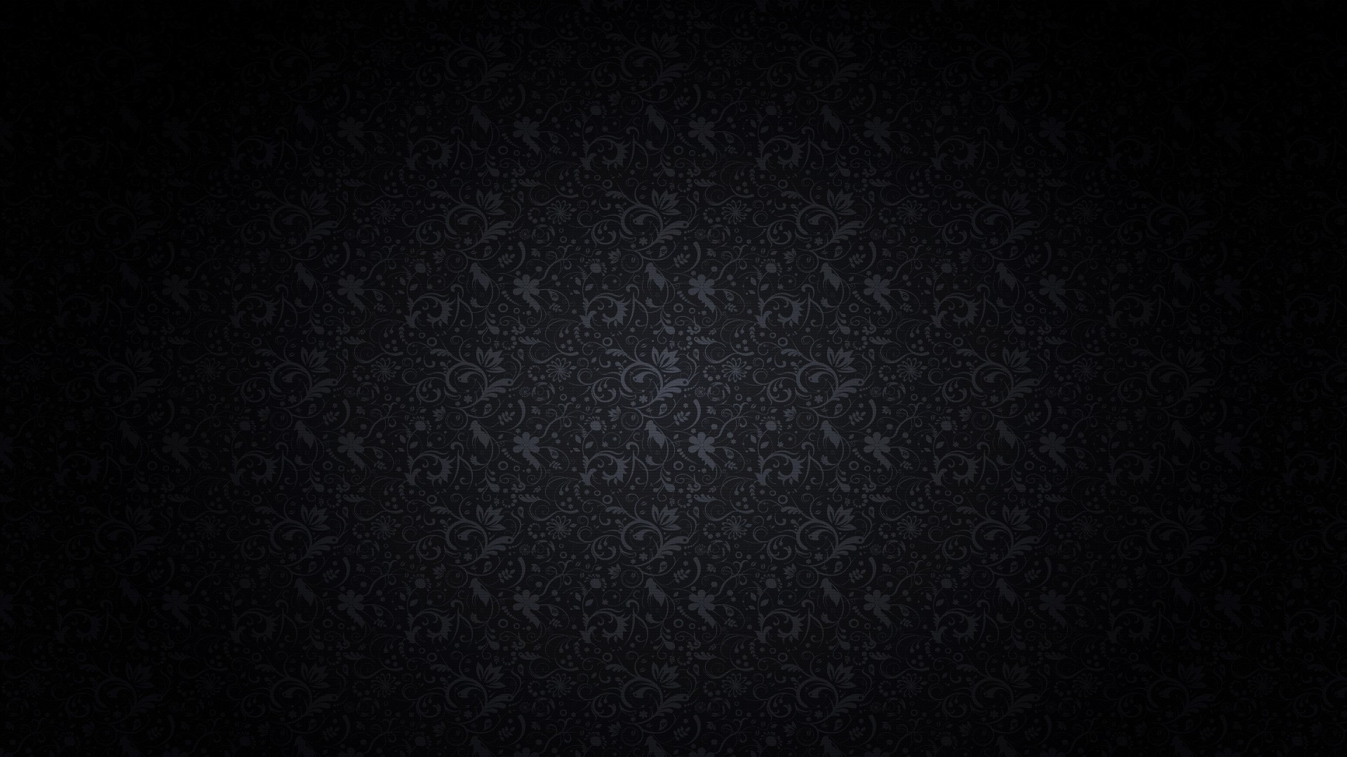 Black background pattern wallpaper
