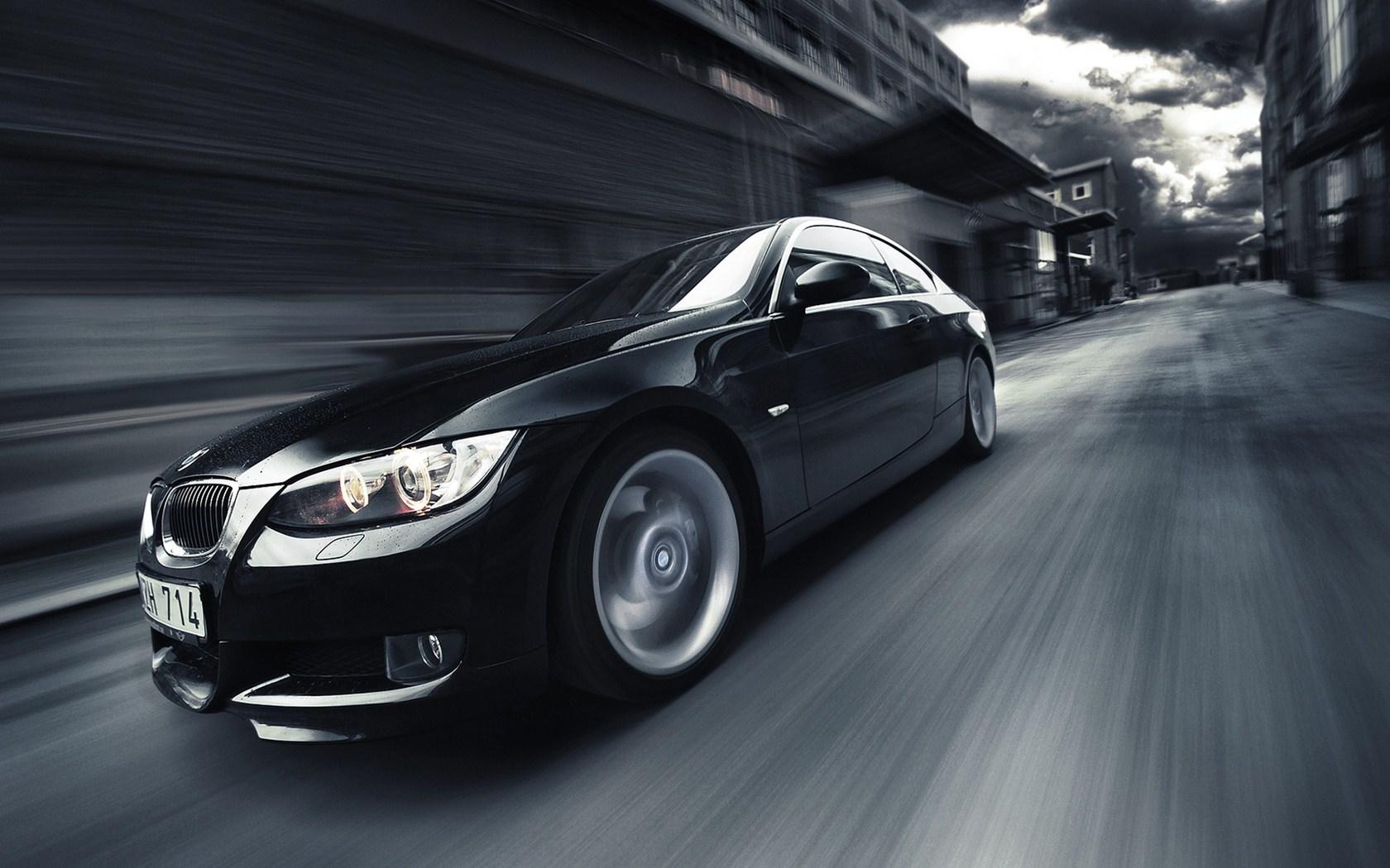 Black BMW 335 Street Speed Photo