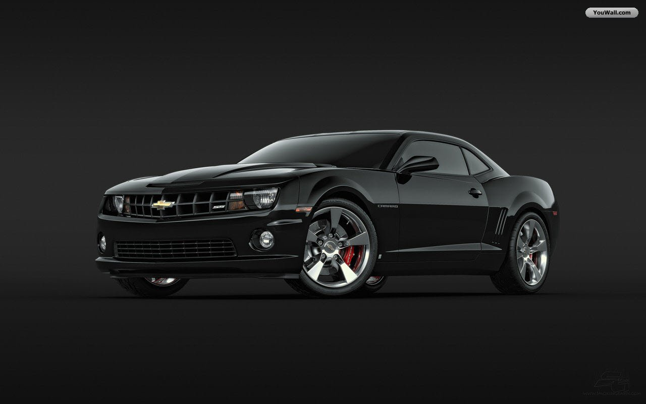 Camaro Black Car Wallpaper<br ...
