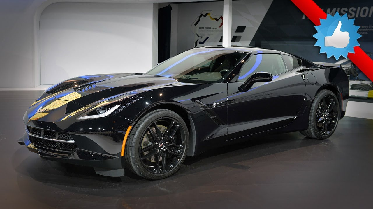 2015 Chevrolet Corvette Stingray Black Widow: Chicago 2014