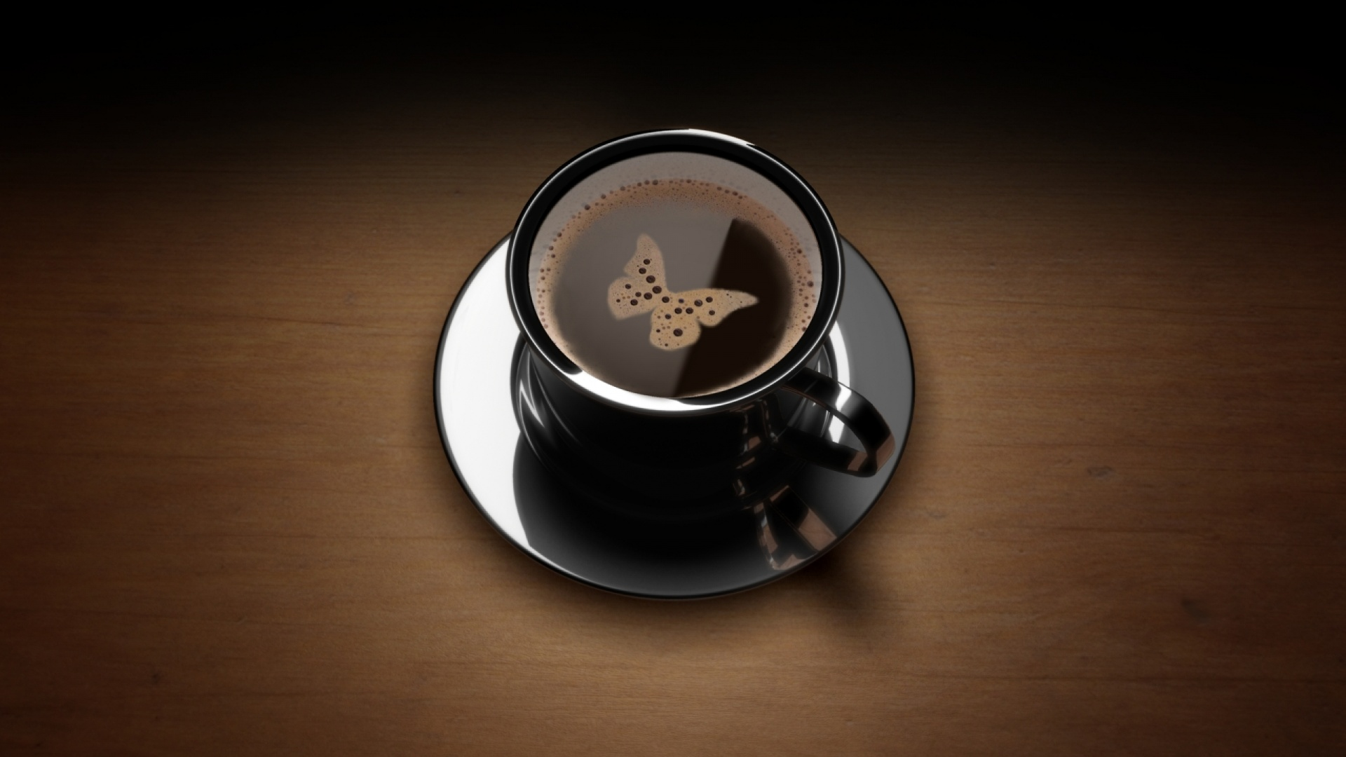 Black Coffee Wallpaper