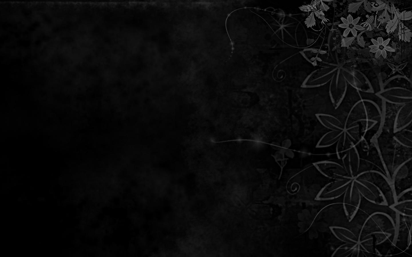 elegant black desktop wallpapers of high resolution wide