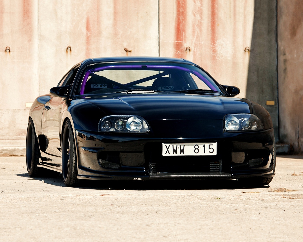 Black jdm supra Wallpaper in 1280x1024 5:4