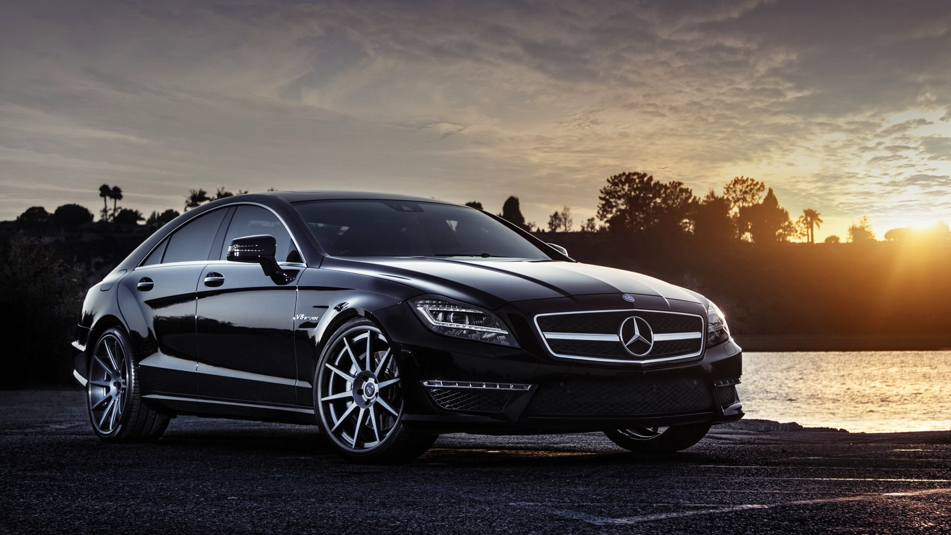 Benz Drift Car >> Black Mercedes wallpaper | 1920x1080 | #16297