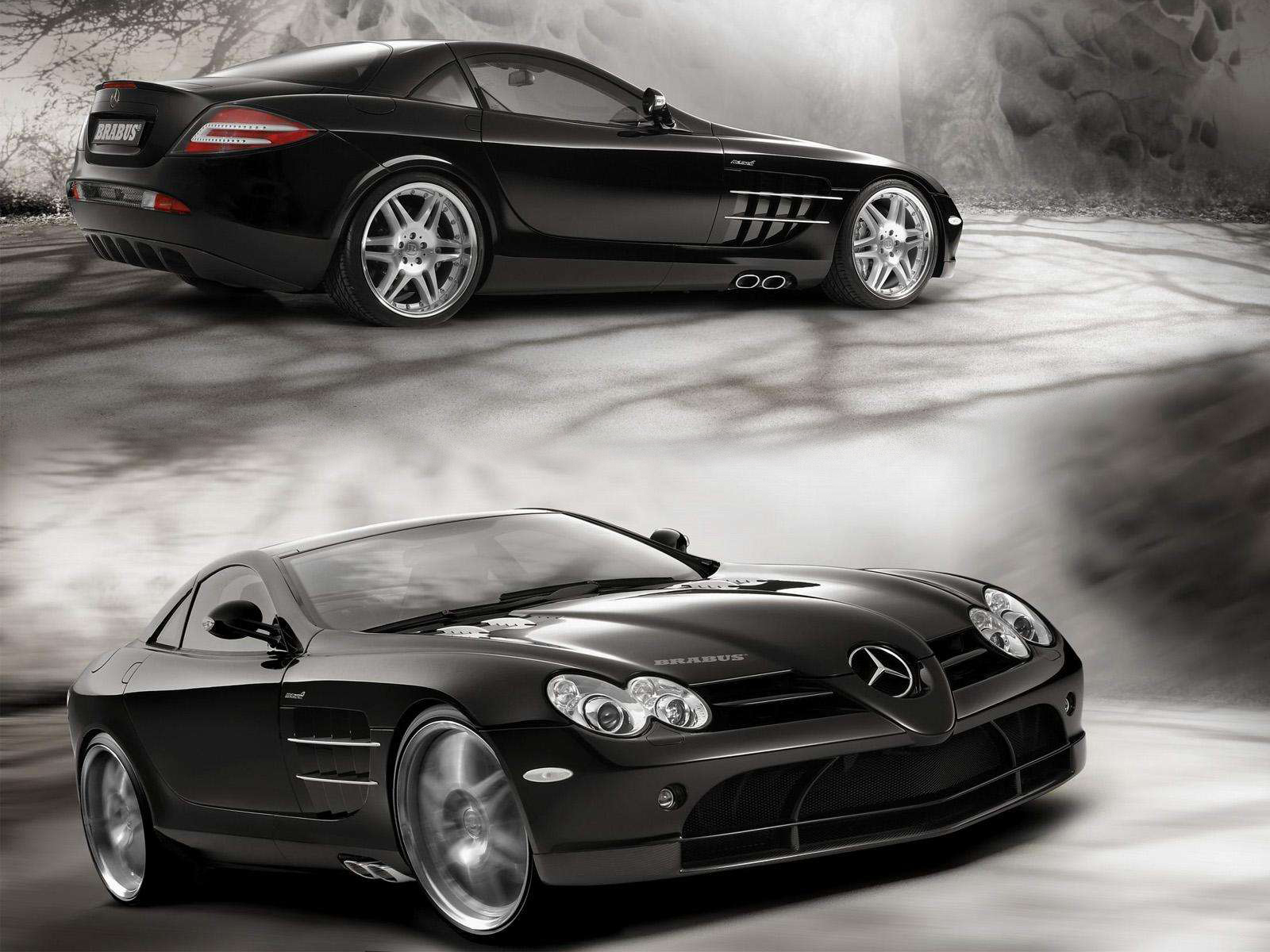 Mercedes-Benz SLR McLaren black #1