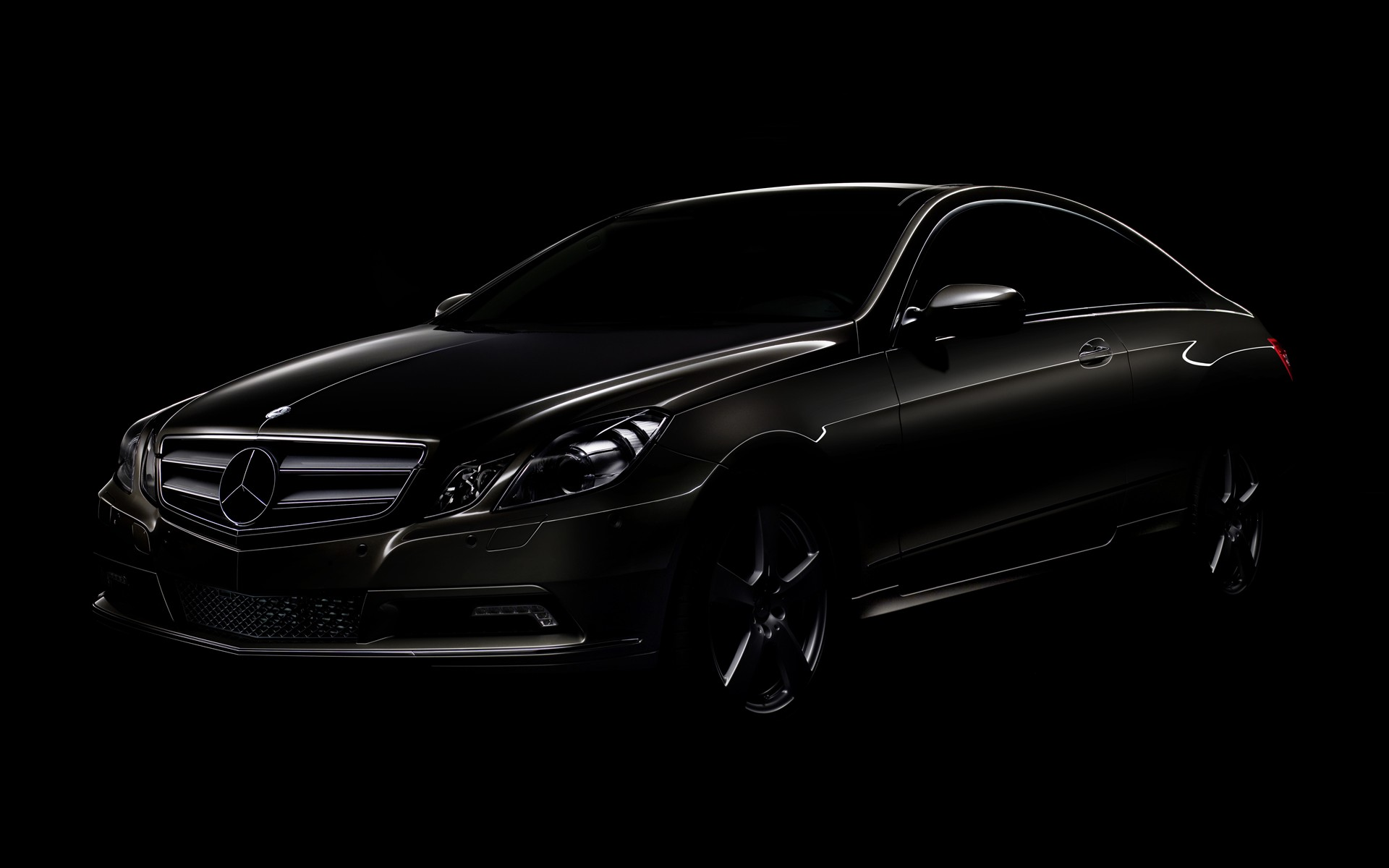 Black Mercedes Wallpaper 06