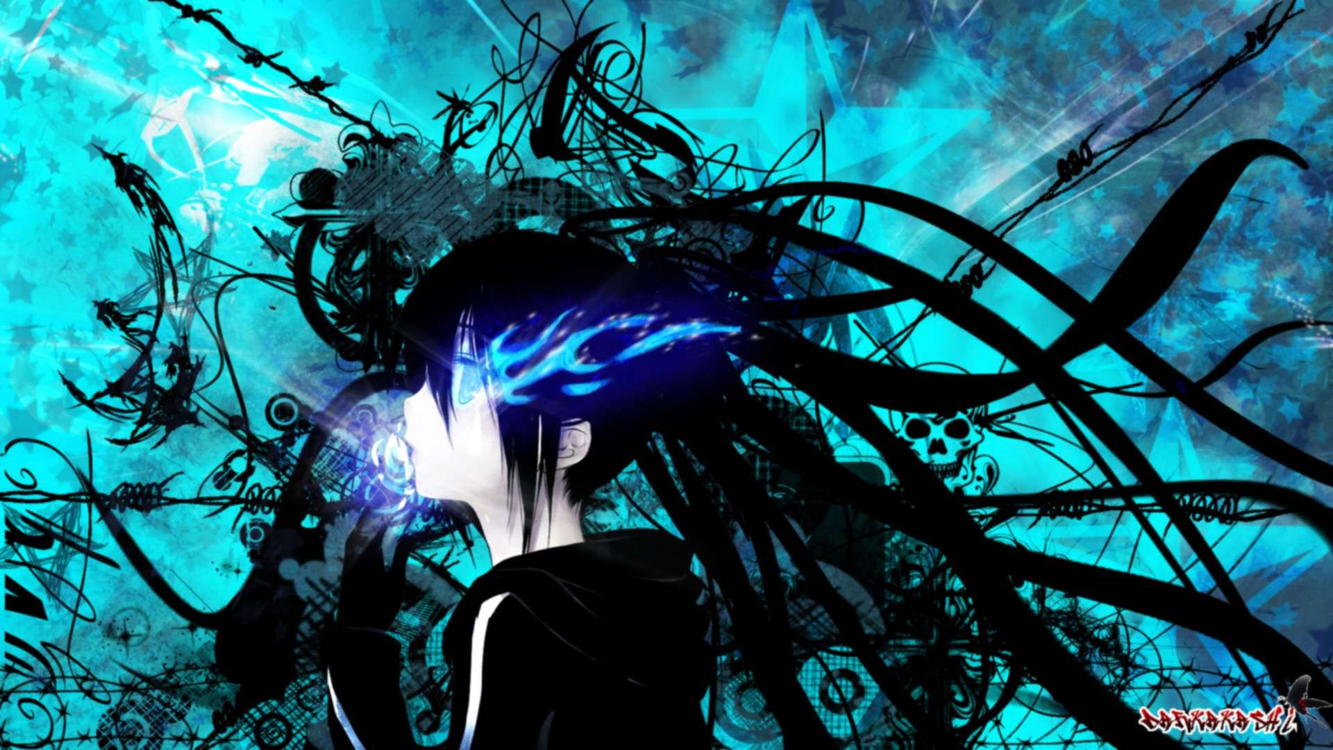 Black rock shooter hd