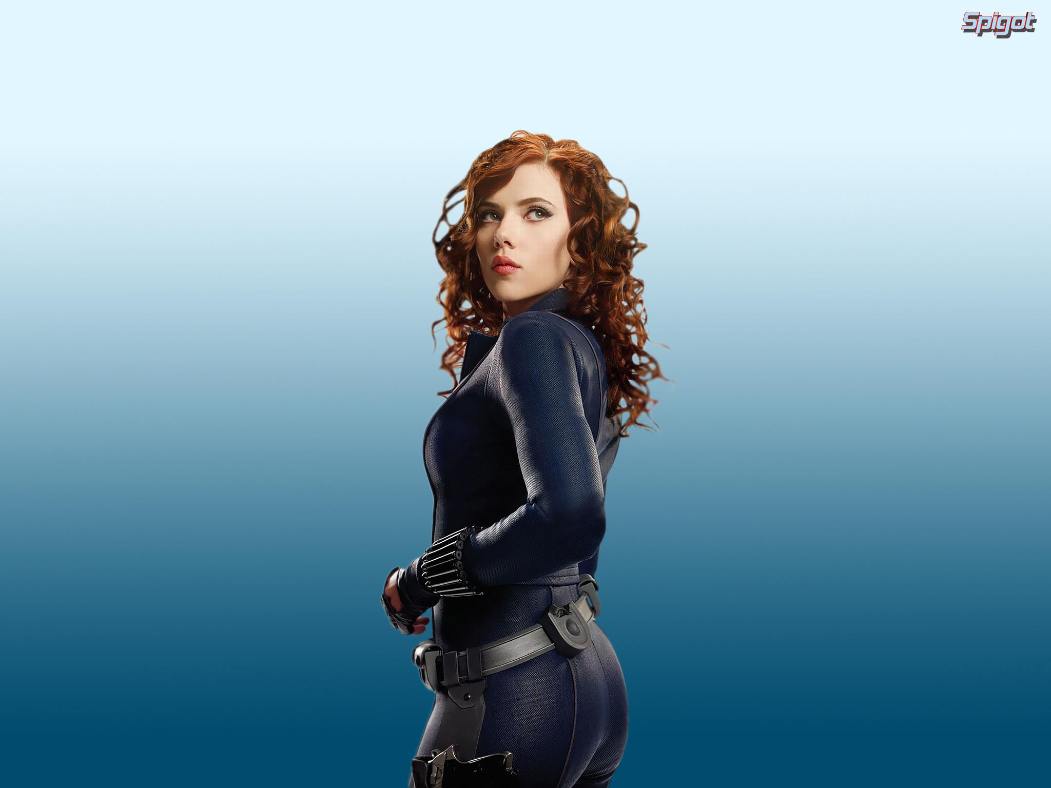 Scarlett Johansson Wallpaper Black Widow (5)