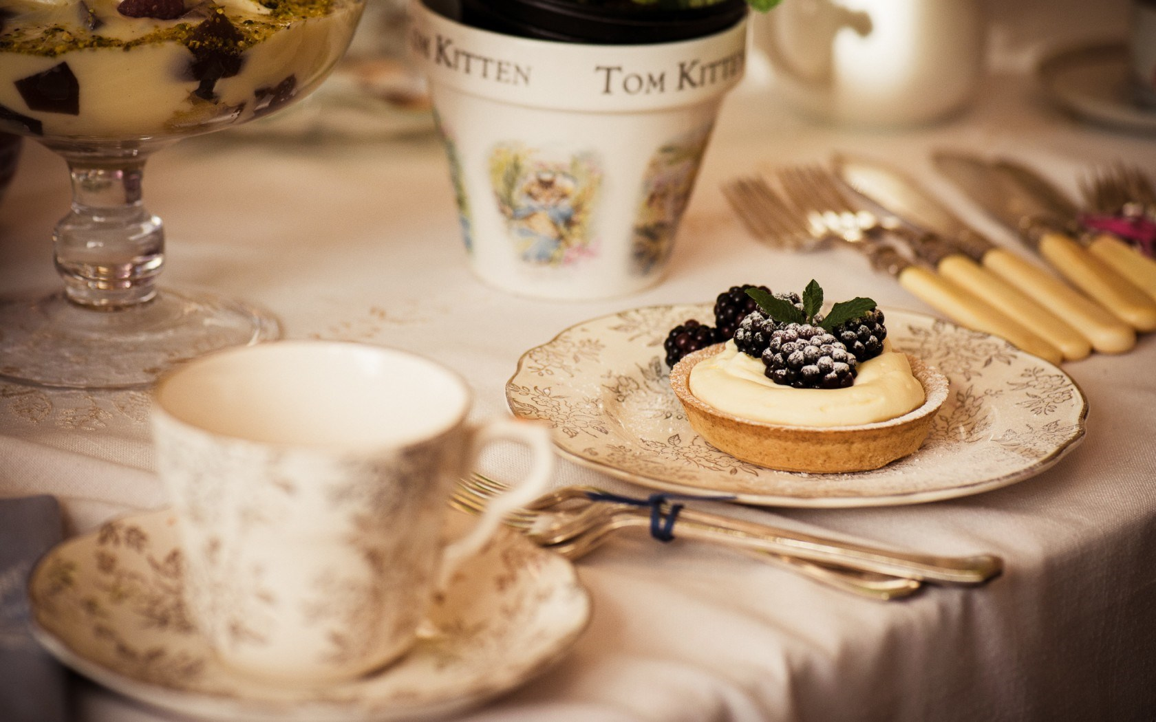 Blackberry Dessert Sweet