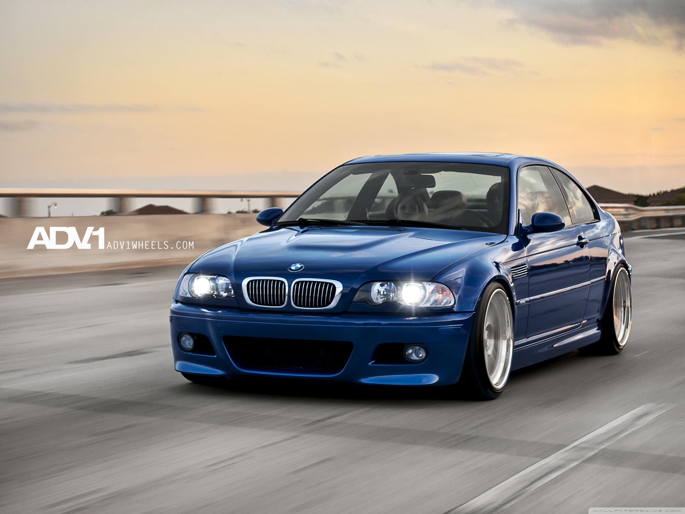 Blue BMW Wallpaper