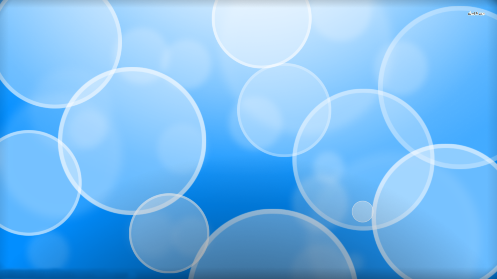 Blue Bubbles wallpaper - Abstract wallpapers - #