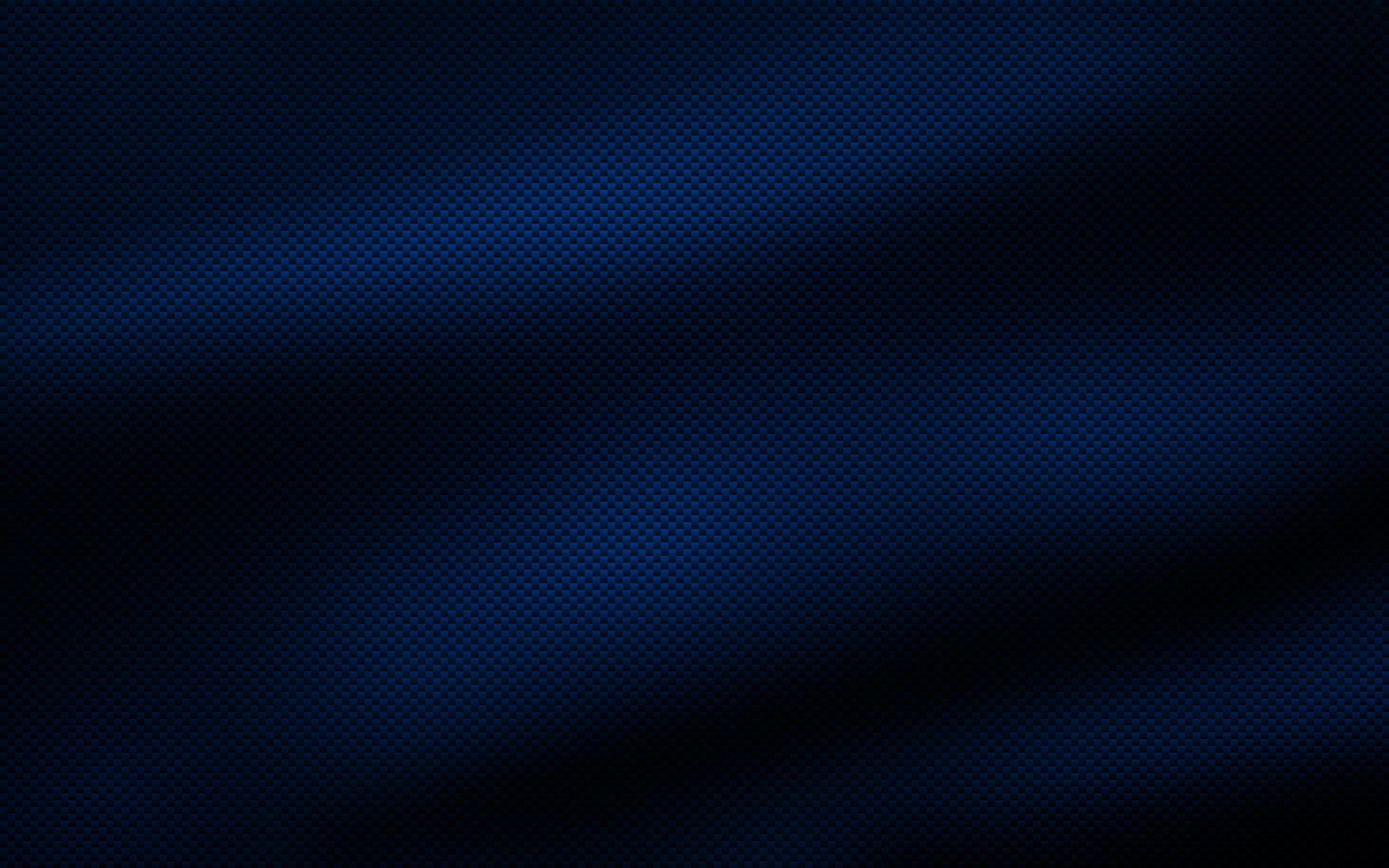 Blue Carbon Fiber Wallpaper