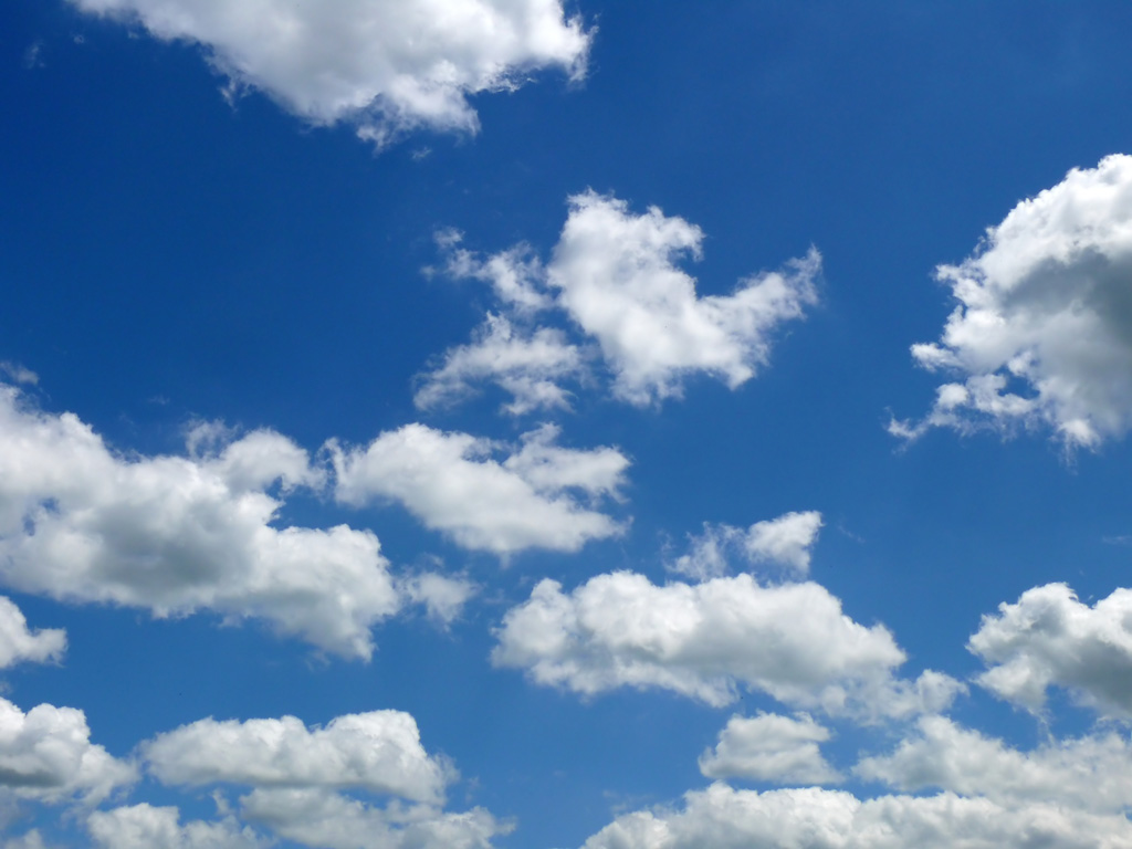 Blue Cloudy Sky — Stock Image