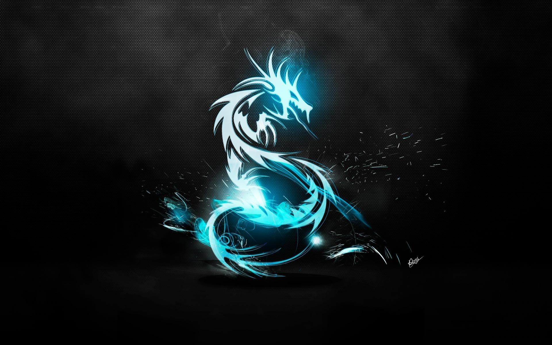 Blue Dragon Art