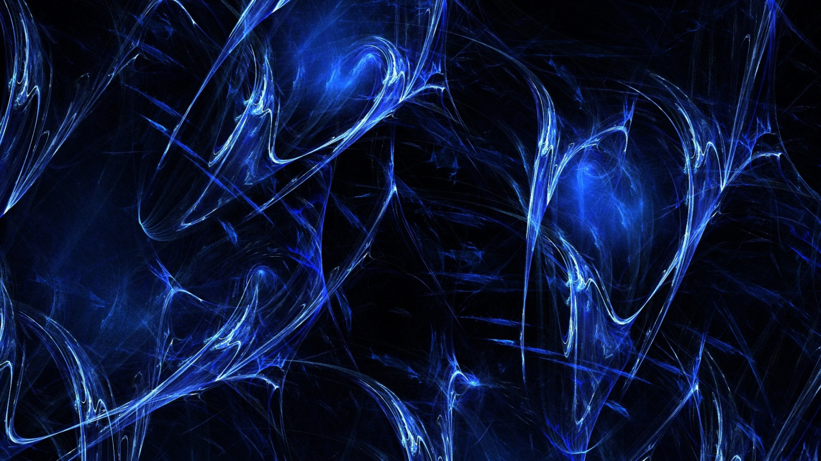 Glossy blue fractals by cednik Glossy blue fractals by cednik