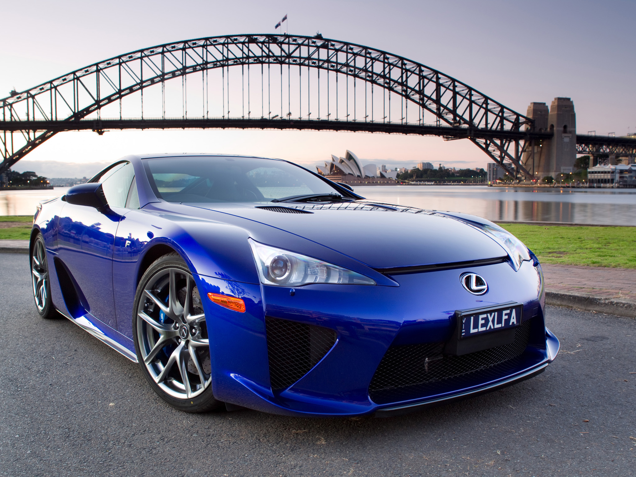 Blue Lexus LFA HD Dekstop Supercars Wallpapers 29 Backgrounds