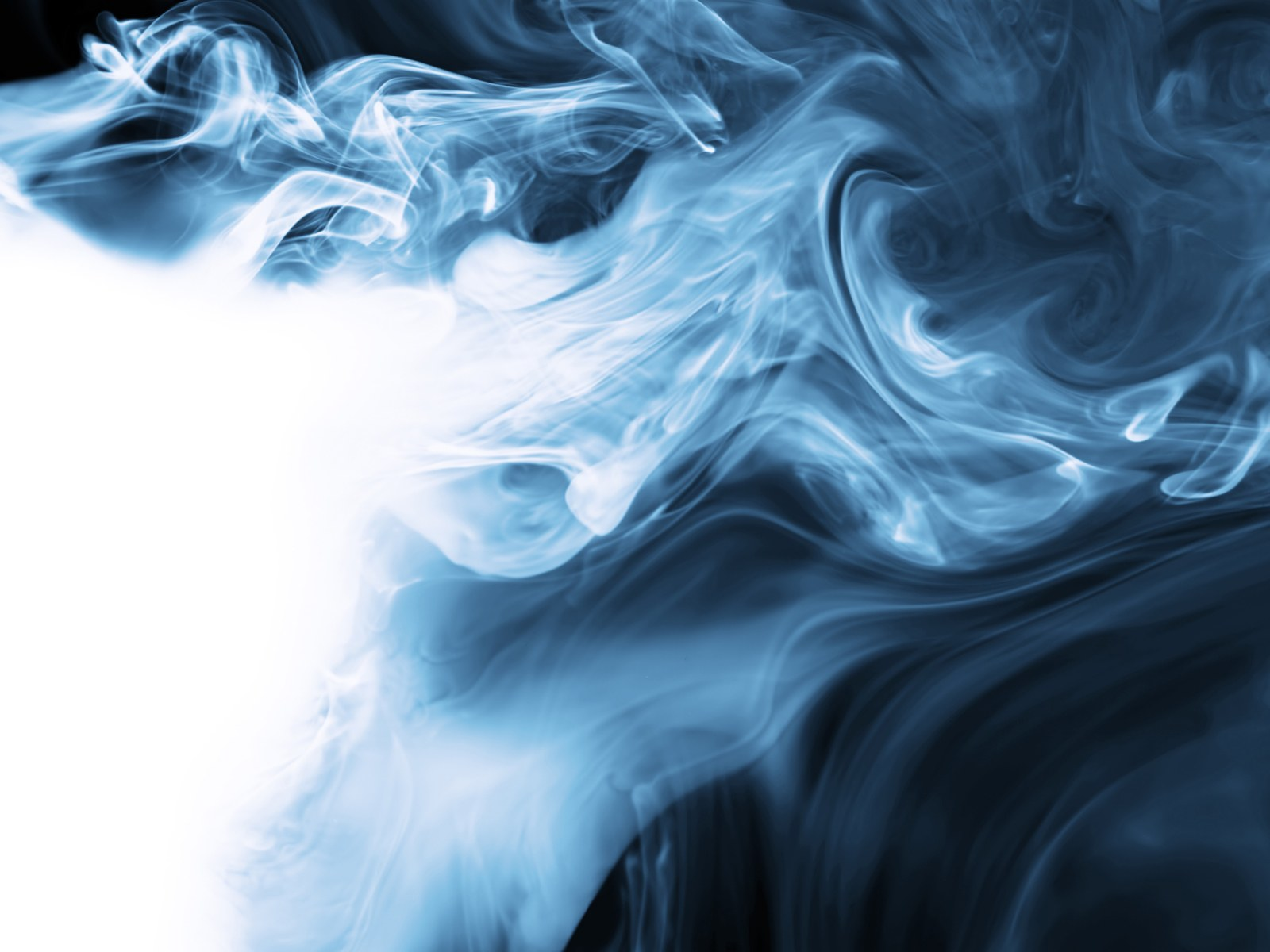 Blue Smoke Wallpaper: Wallpaper Abstract Art Backgrounds Blue Smoke Fourwallsonlycom 1600x1200px