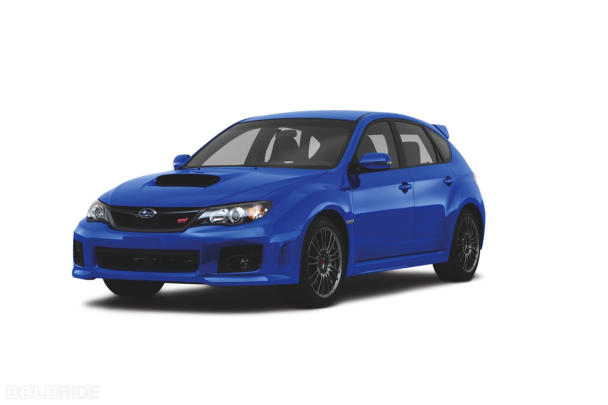 2011 Subaru Impreza WRX STI 5-door 1280 x 1080