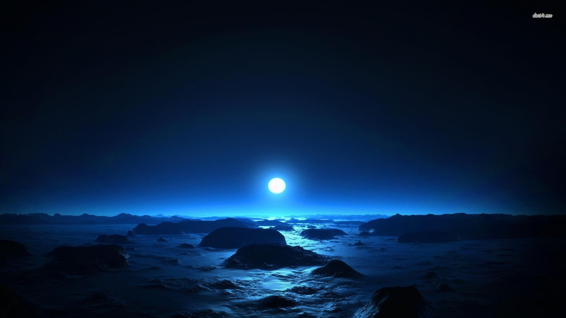 Blue Sunset