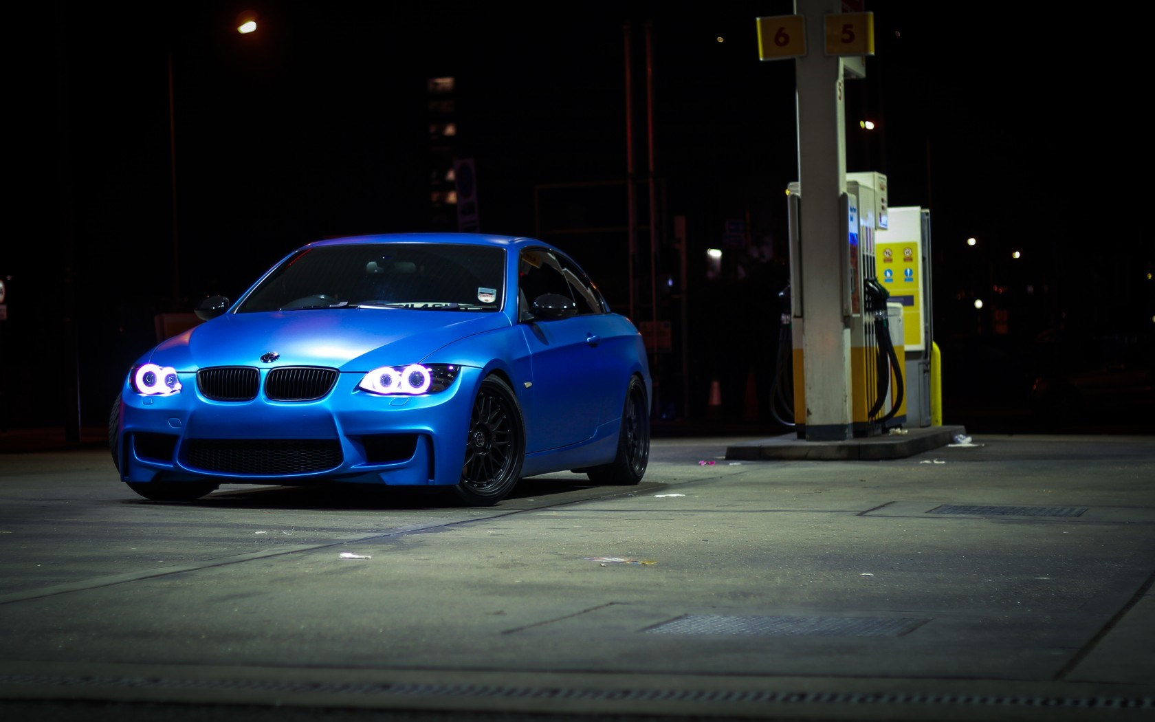 BMW 335i E92 Car Night HD Wallpaper