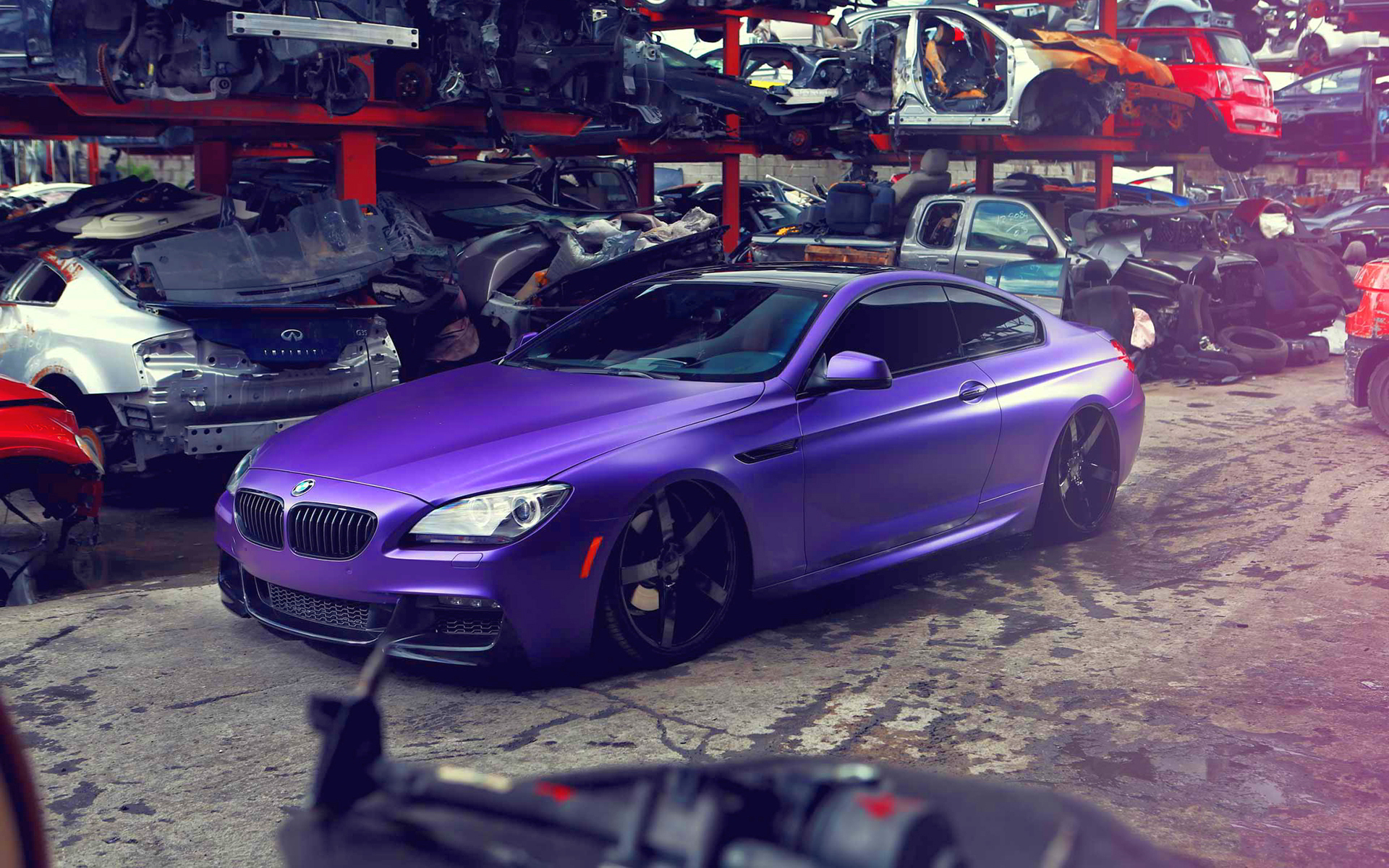 Bmw 6 series tuning vossen