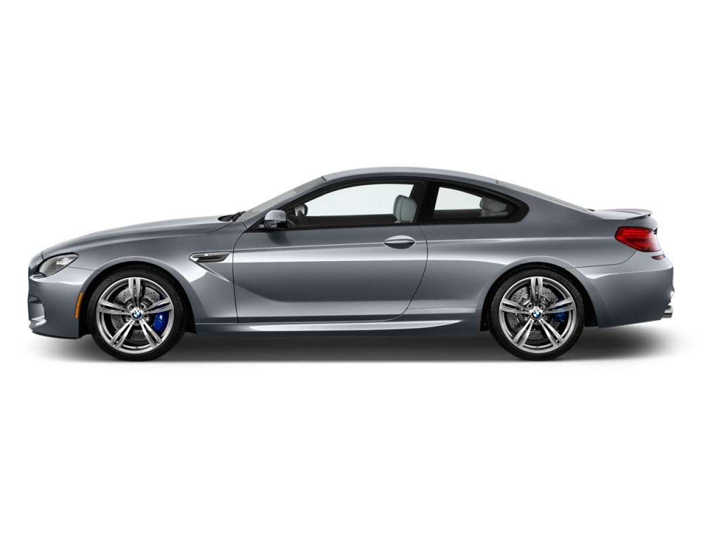2013 BMW M6 2-door Coupe Side Exterior View