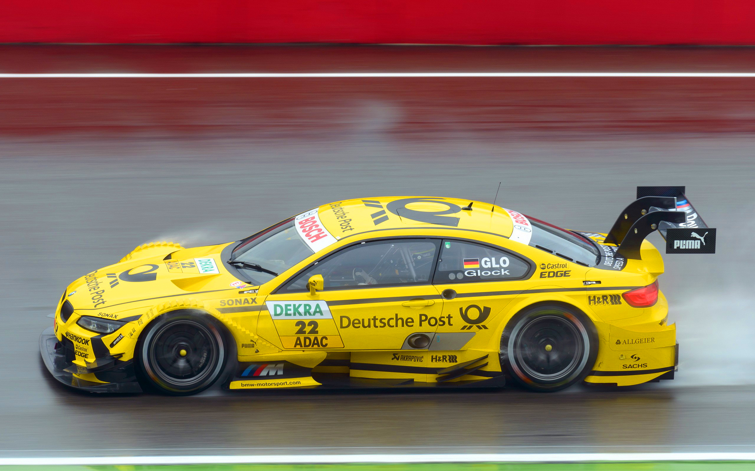 Bmw dtm racing car