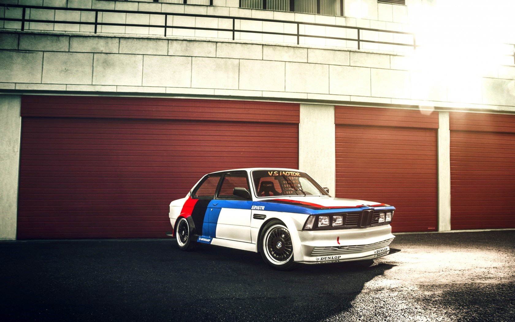BMW E21 GTR Race Car HD Wallpaper