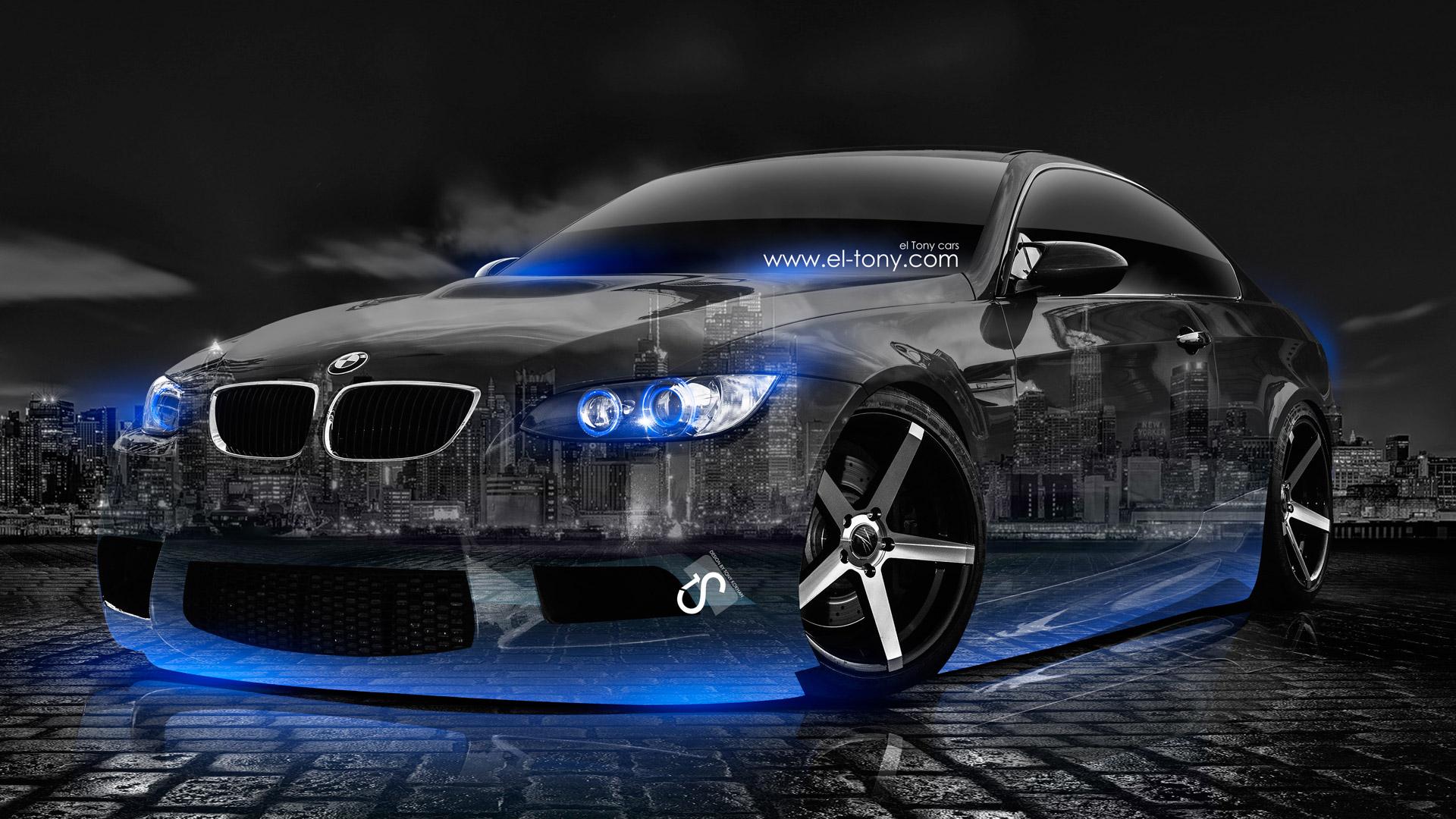 BMW-E92-M3-Crystal-City-Car-2014-Blue- ...