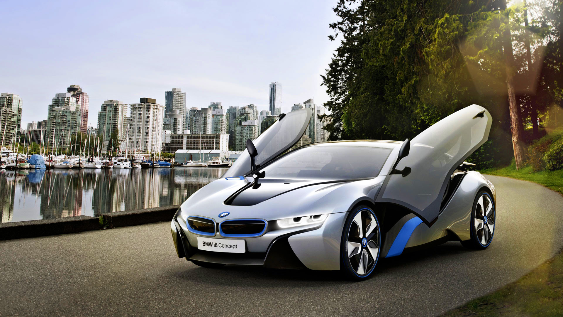 BMW i8 Wallpaper